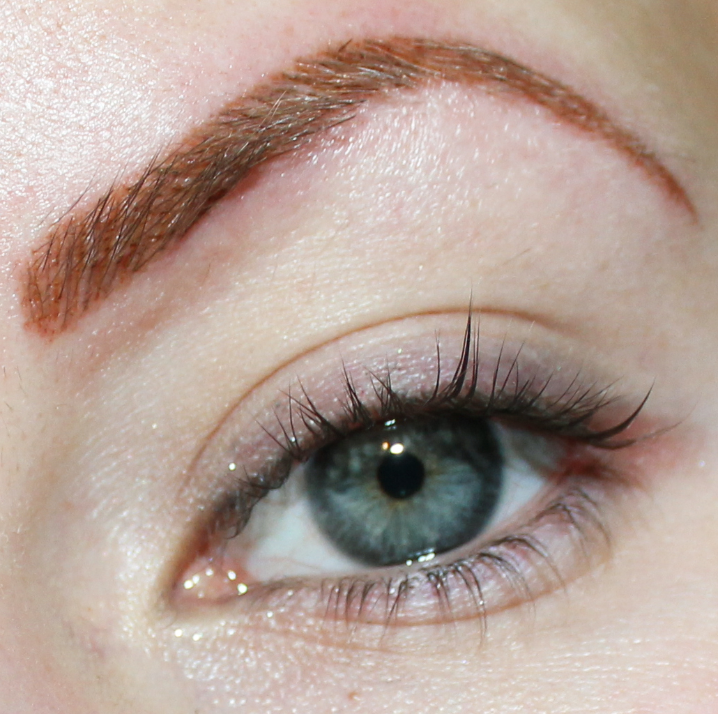 Eyebrow Tattoo - Permanent Makeup Before and After