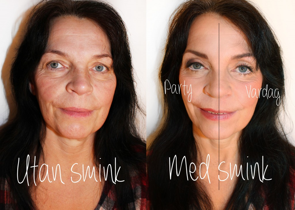 makeup tips 40+ before and after