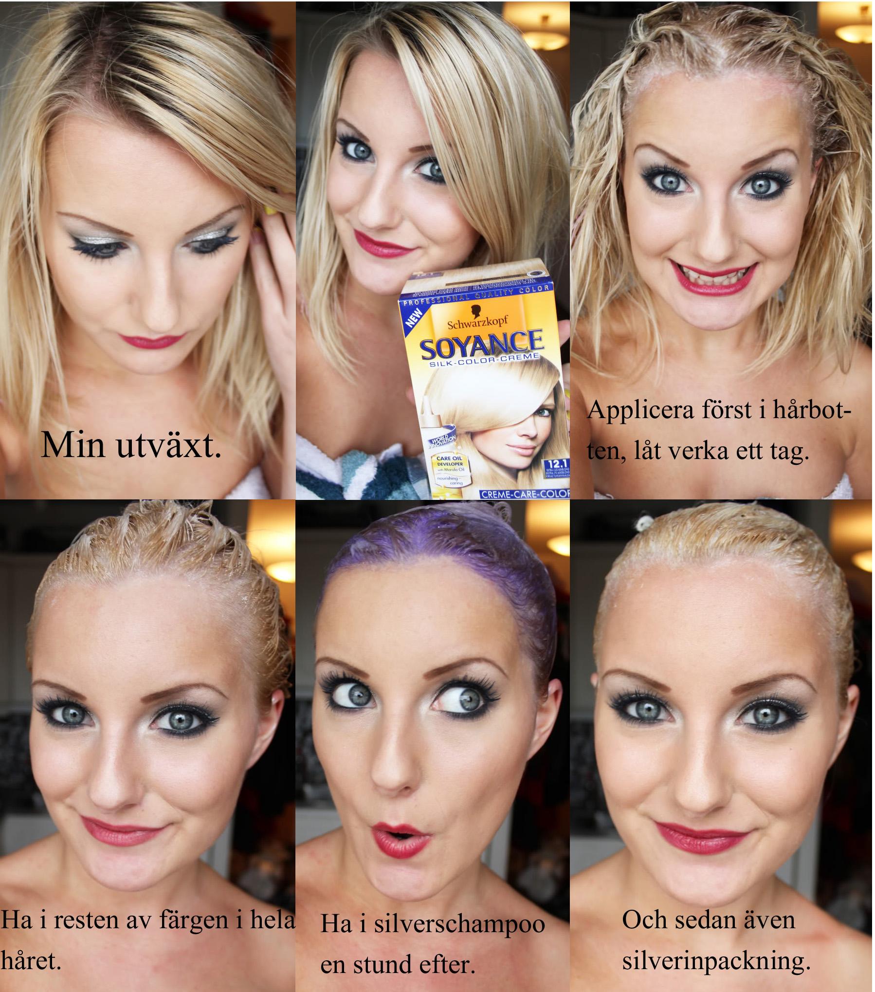 Gå från brunett till blondin