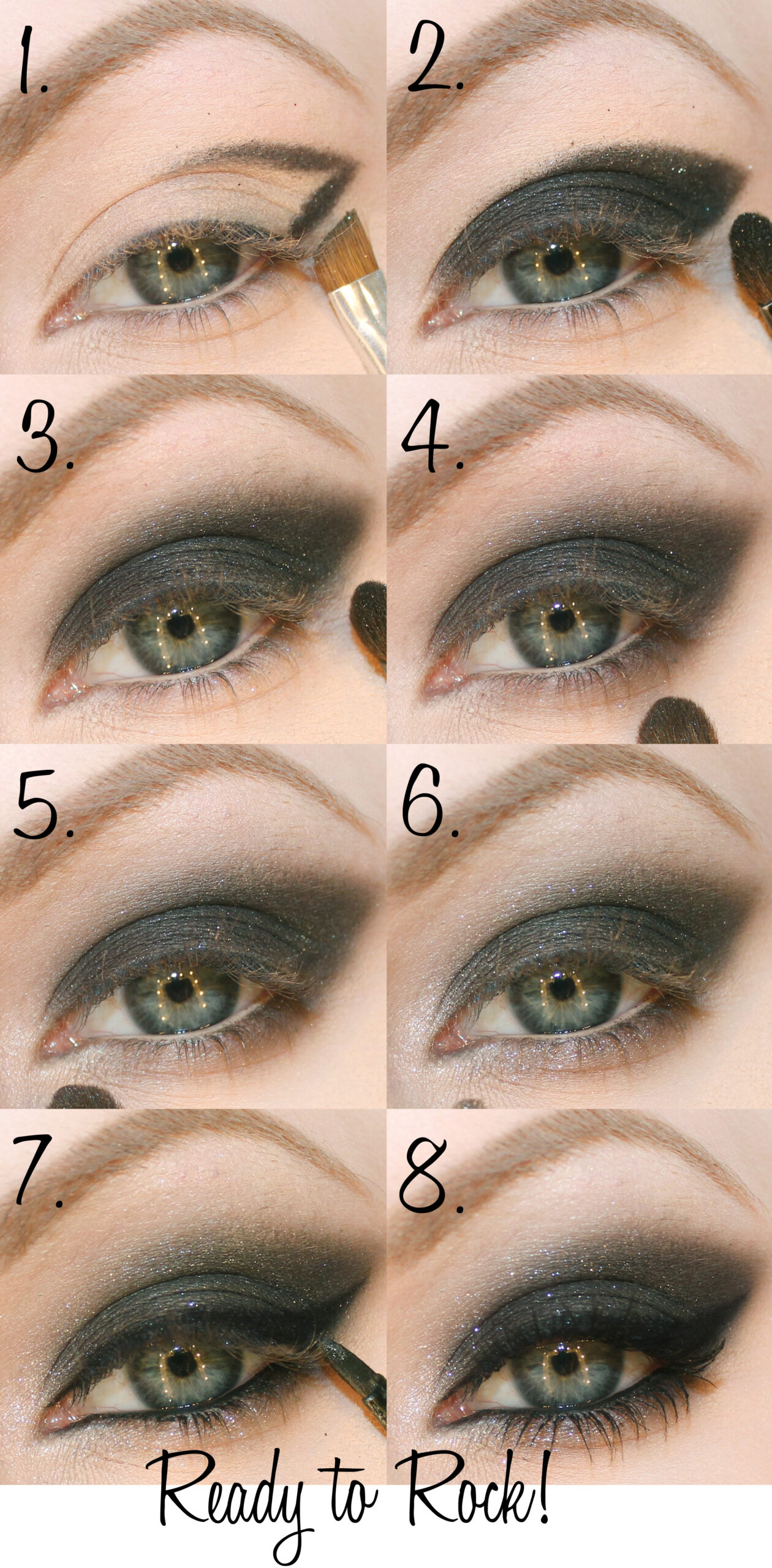 christina aguilera makeup tutorial smokey eyes