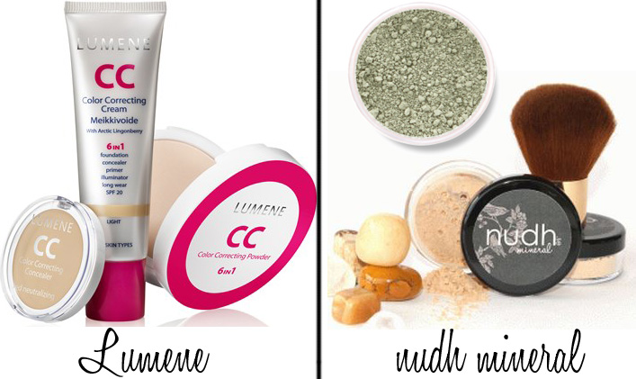 products that cover red-flamed skin