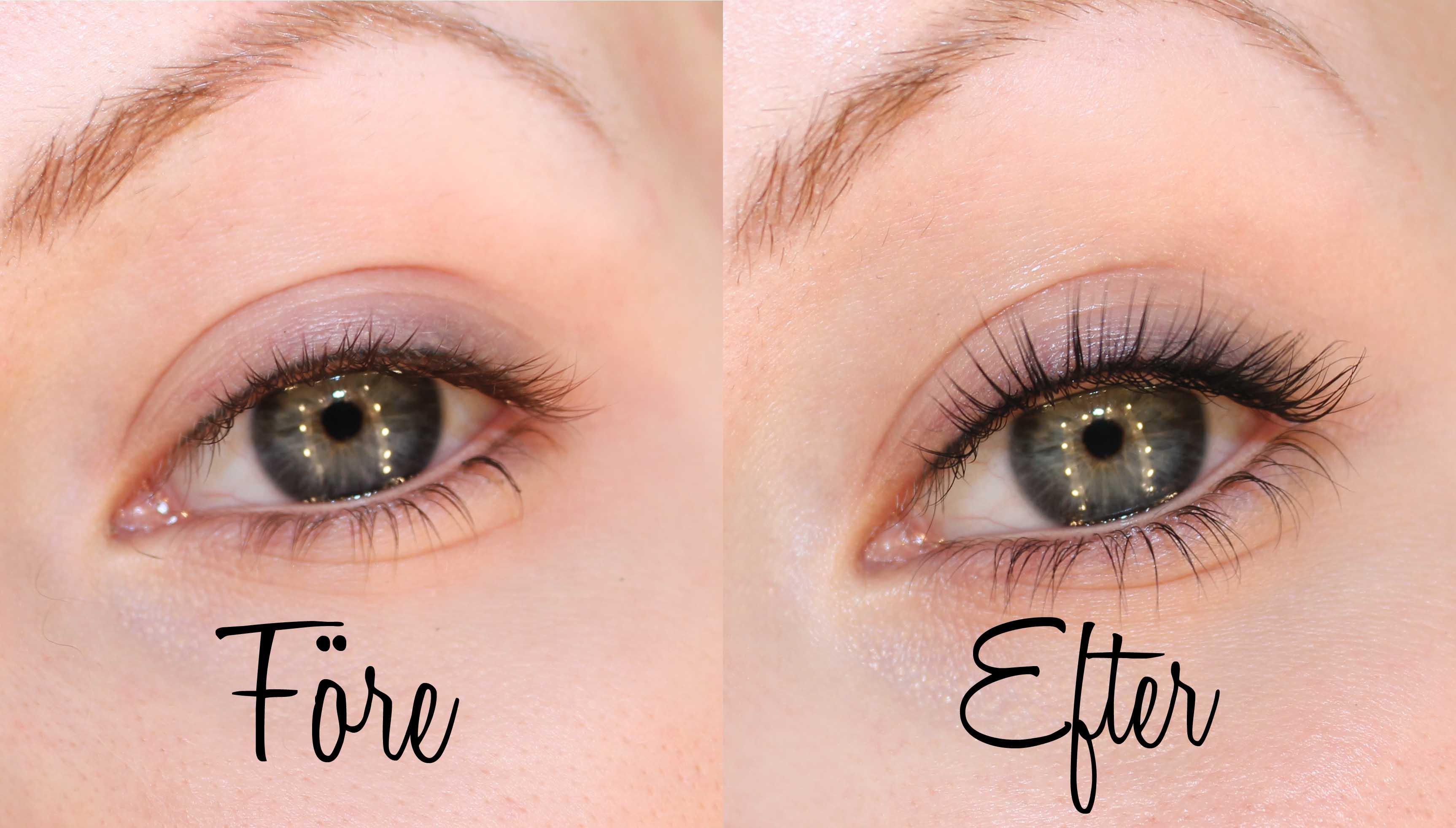hur får man långa ögonfransar