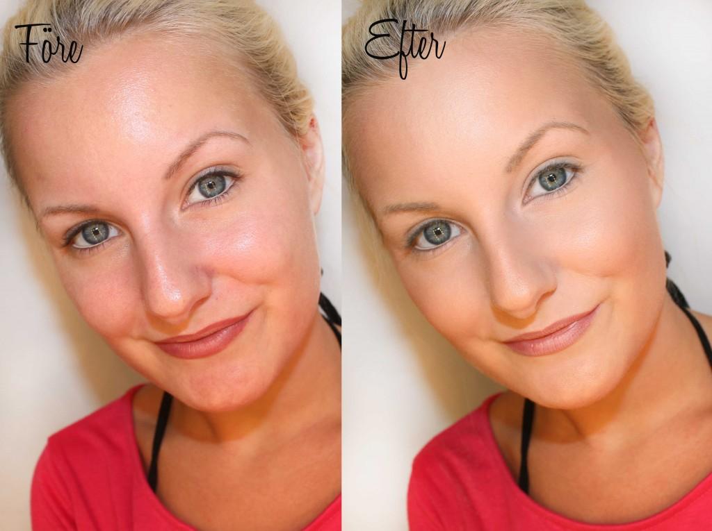 maquillaje básico mineral nudh antes después