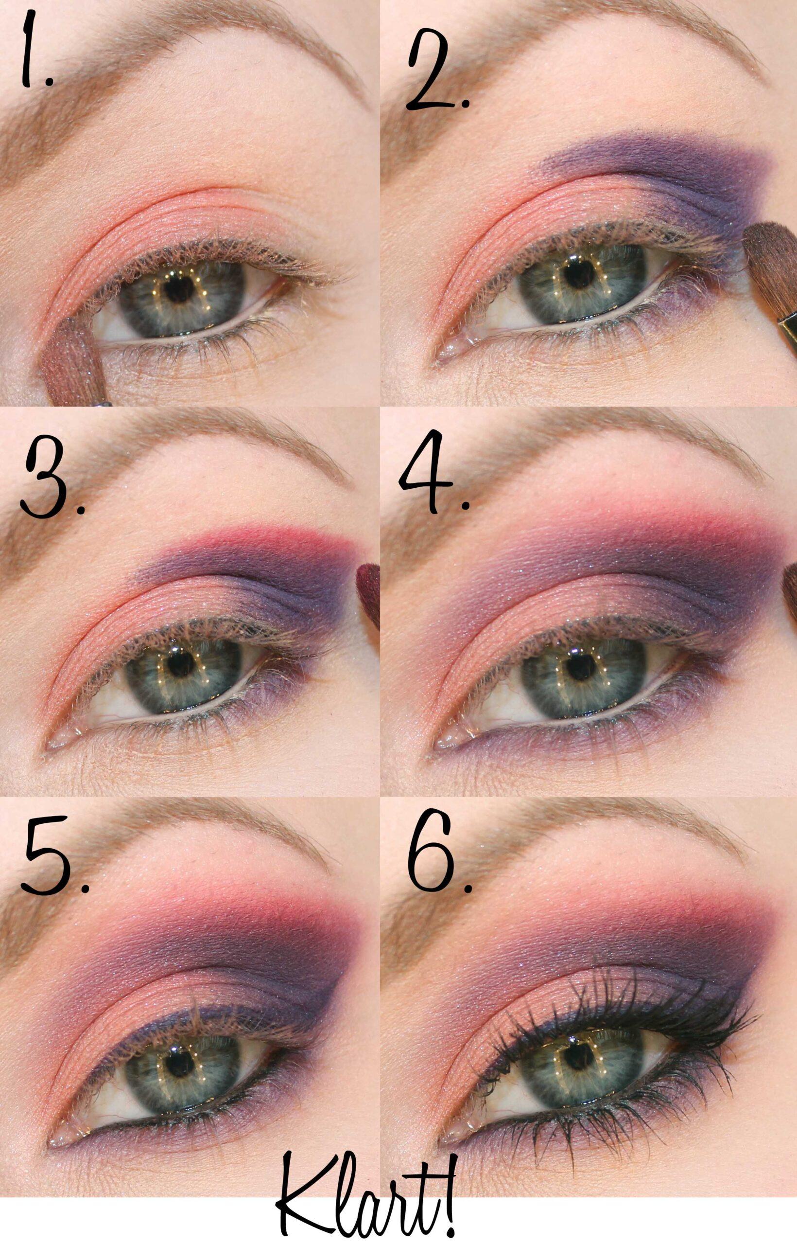 makeup tutorial purple