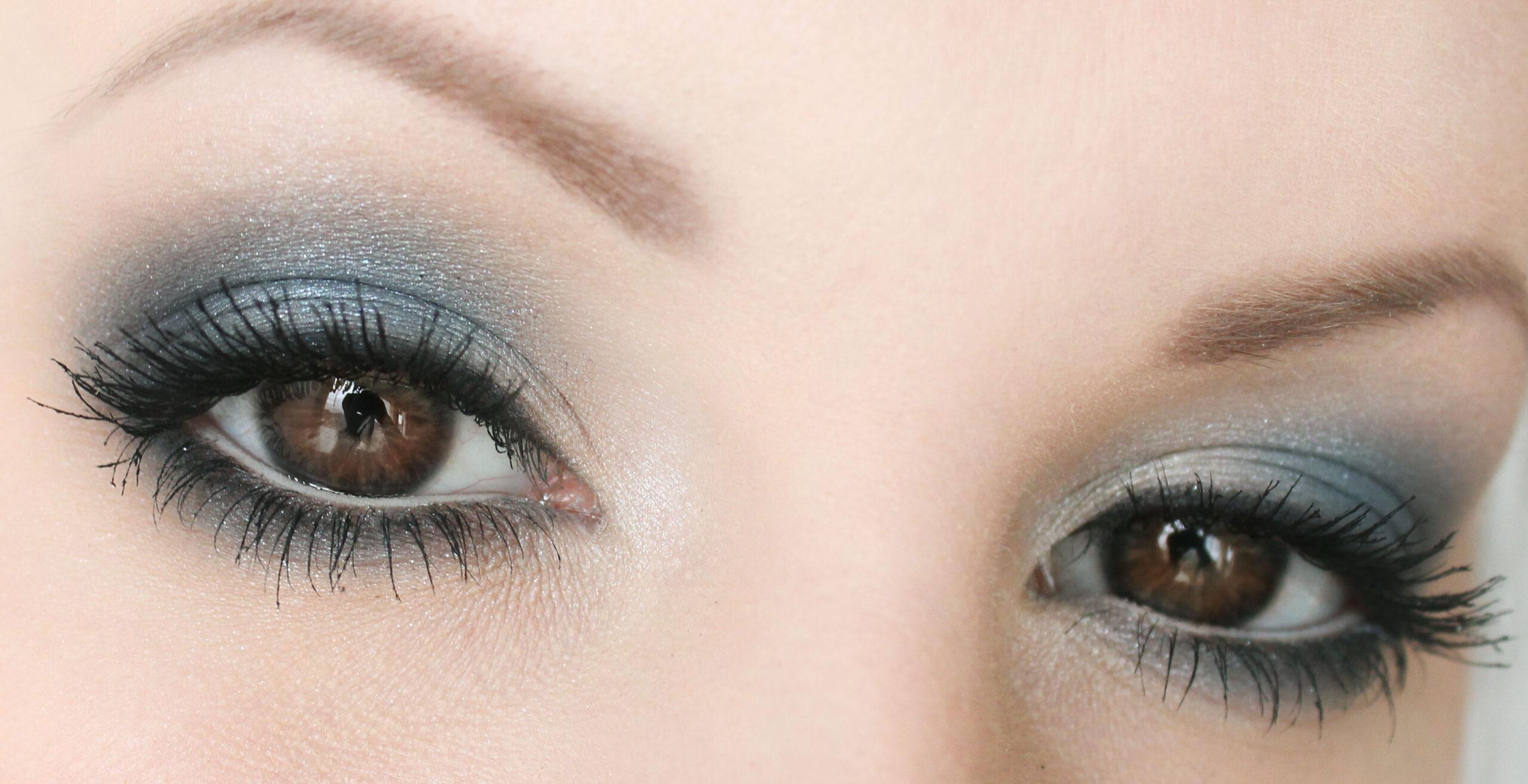 fina bruna ögon