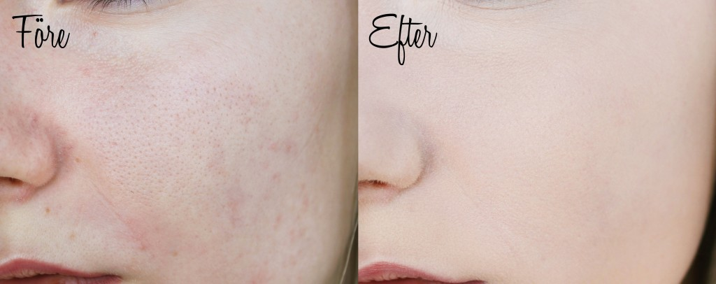 before-after-unmade, -blur, -foundation