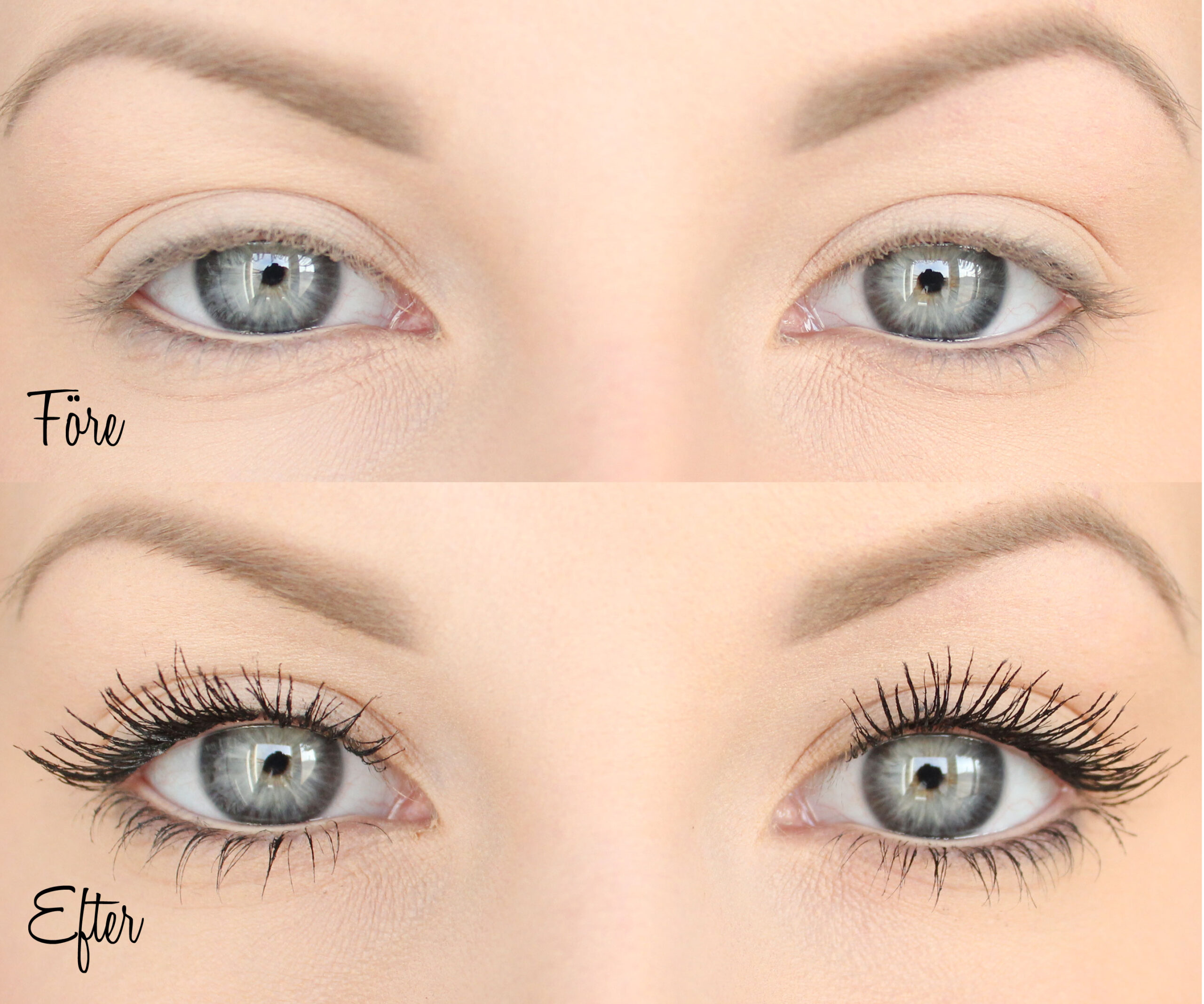 bra mascara för korta ögonfransar