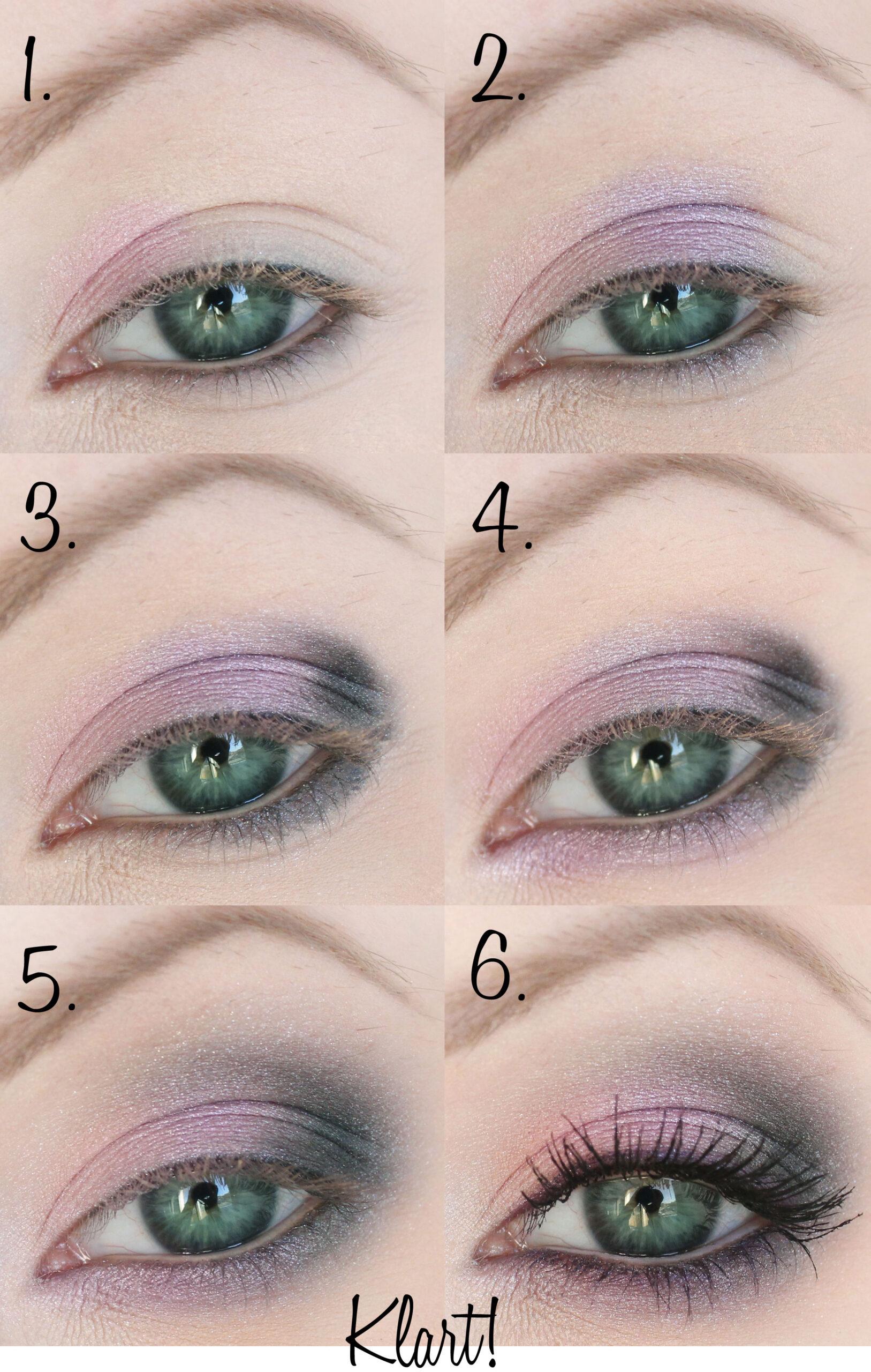 sminkning-steg-för-steg-gröna-ögon