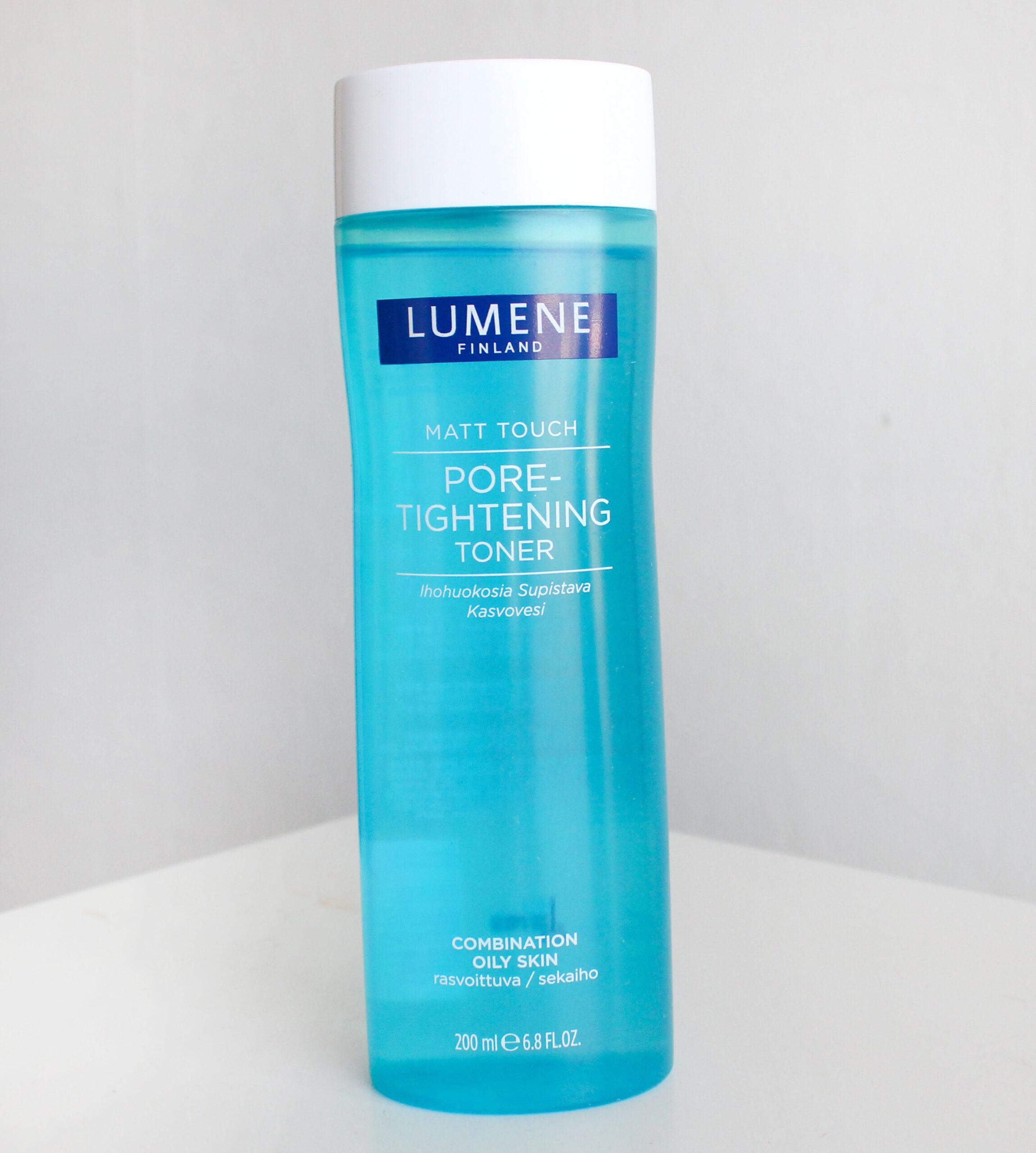 lumene pore tightening toner