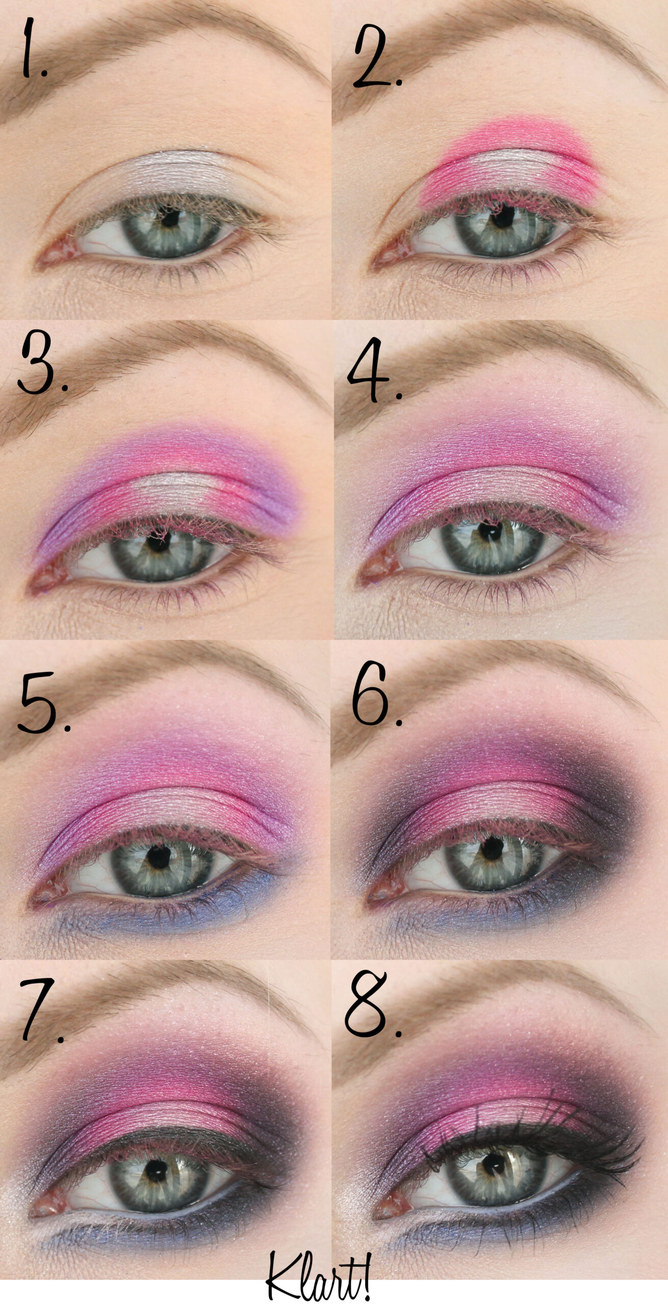 step-by-step make-up