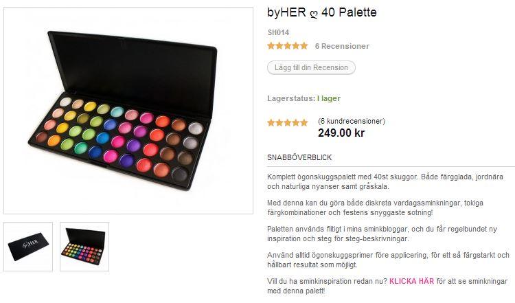 byher 40 palett