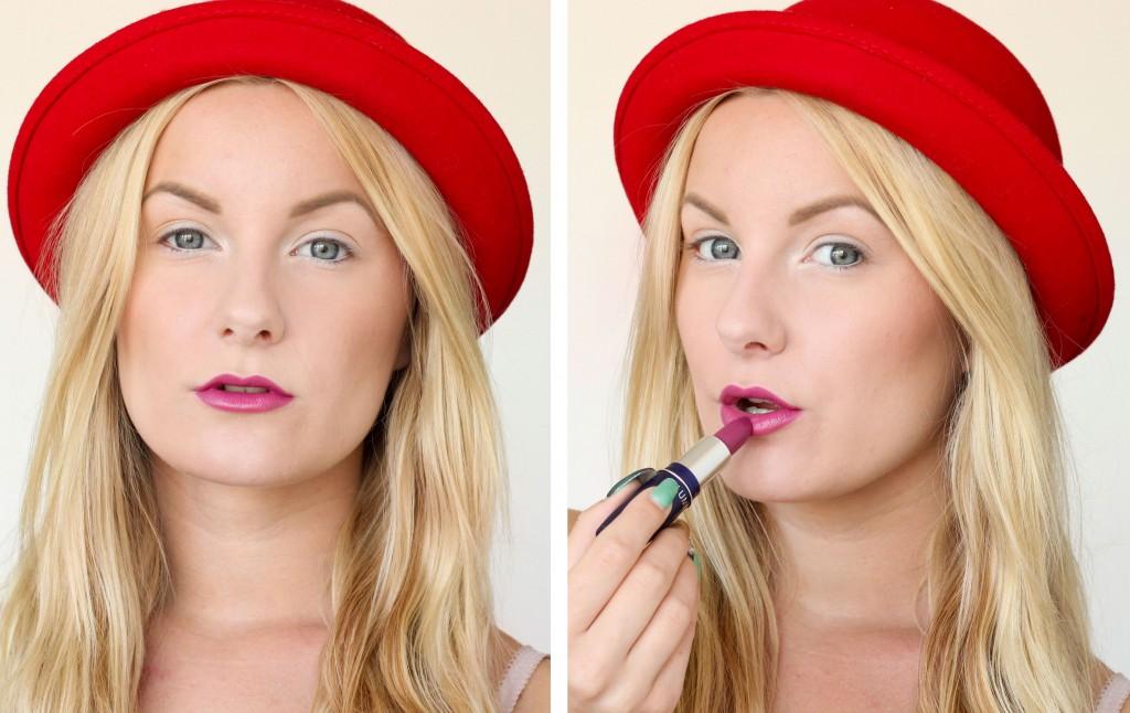 hatt-och-färgstarka-läppar