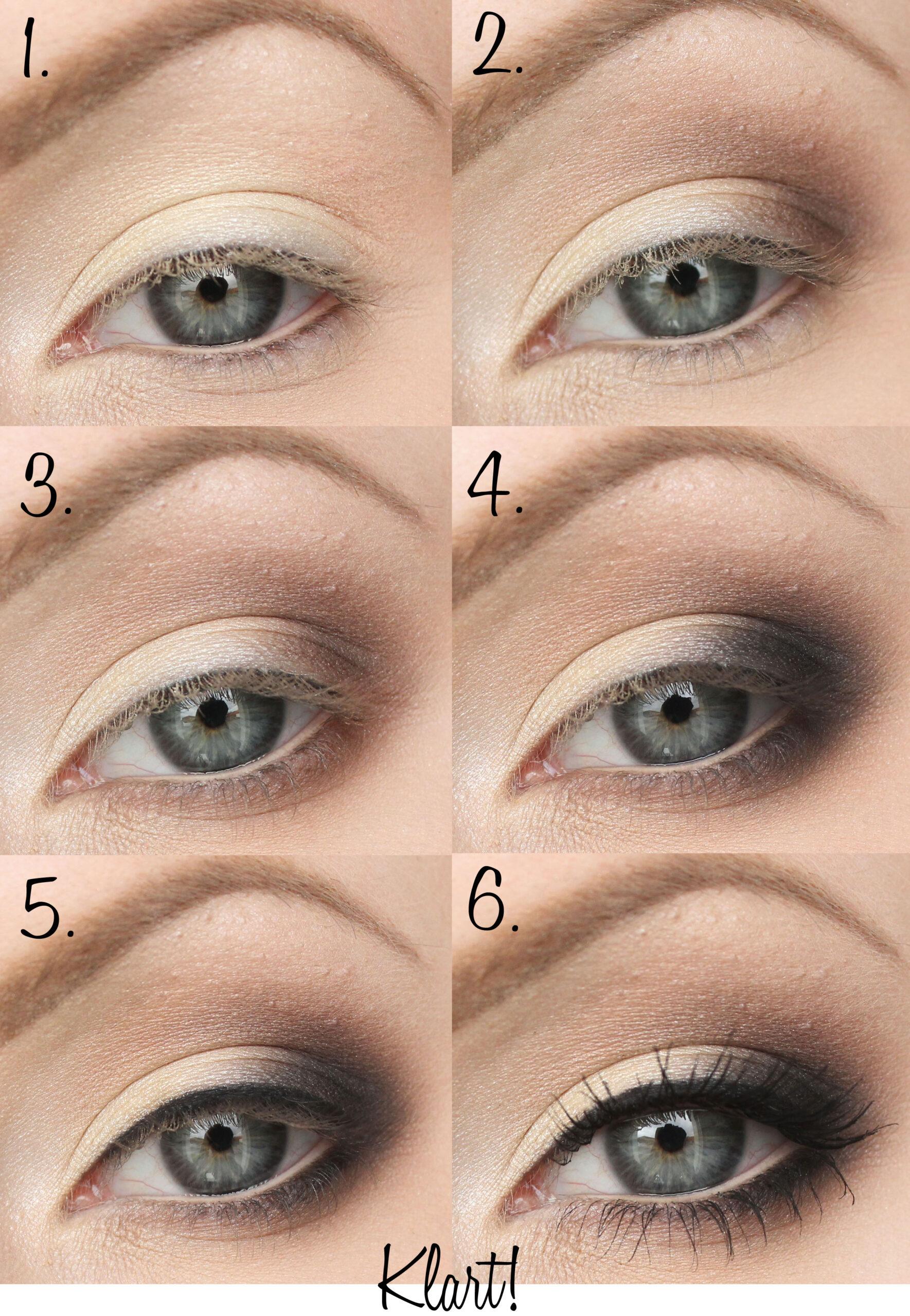 eyeliner steg för steg