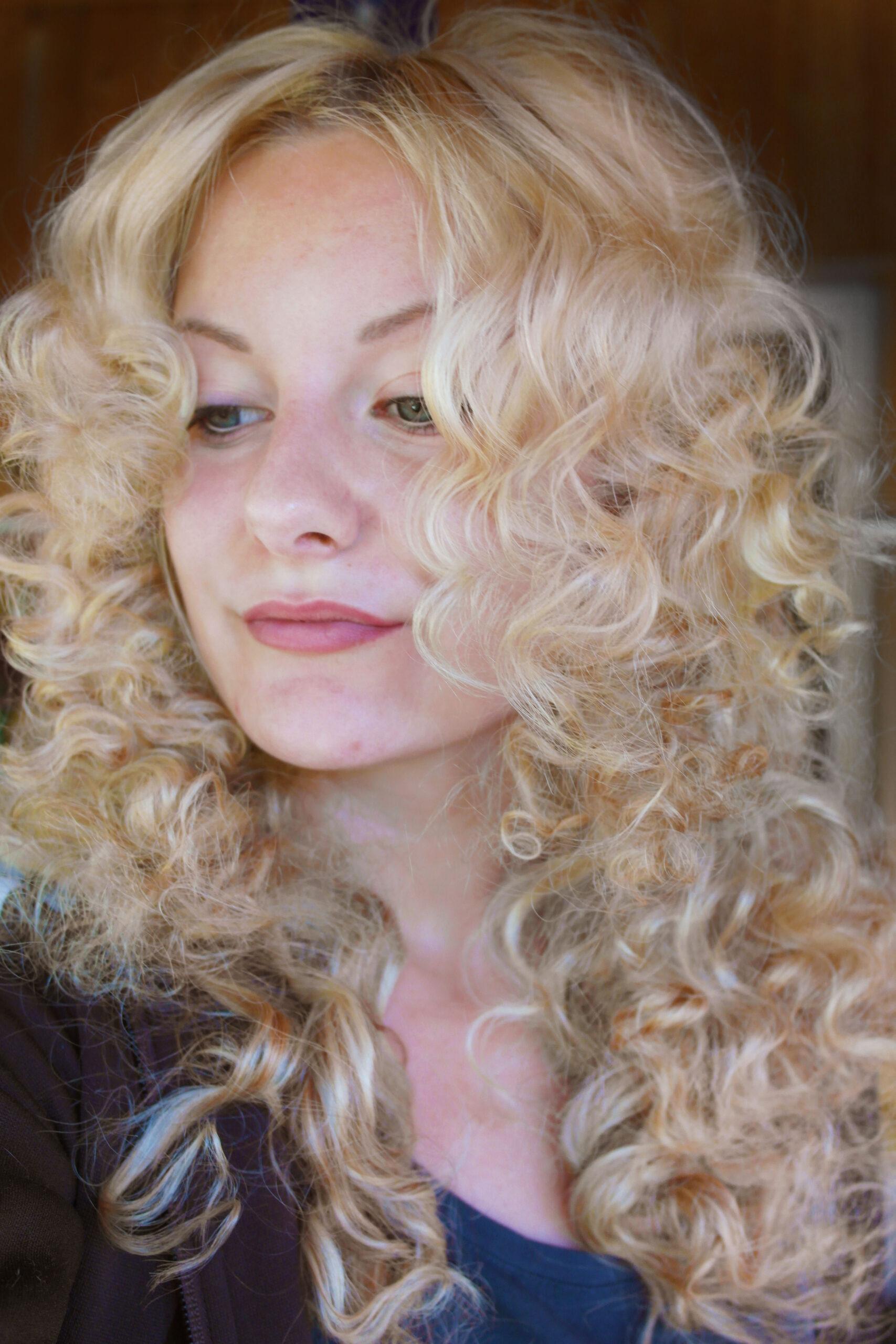 locka håret utan värme