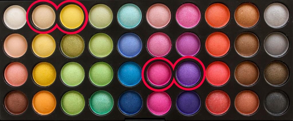 färgglad-sminkning