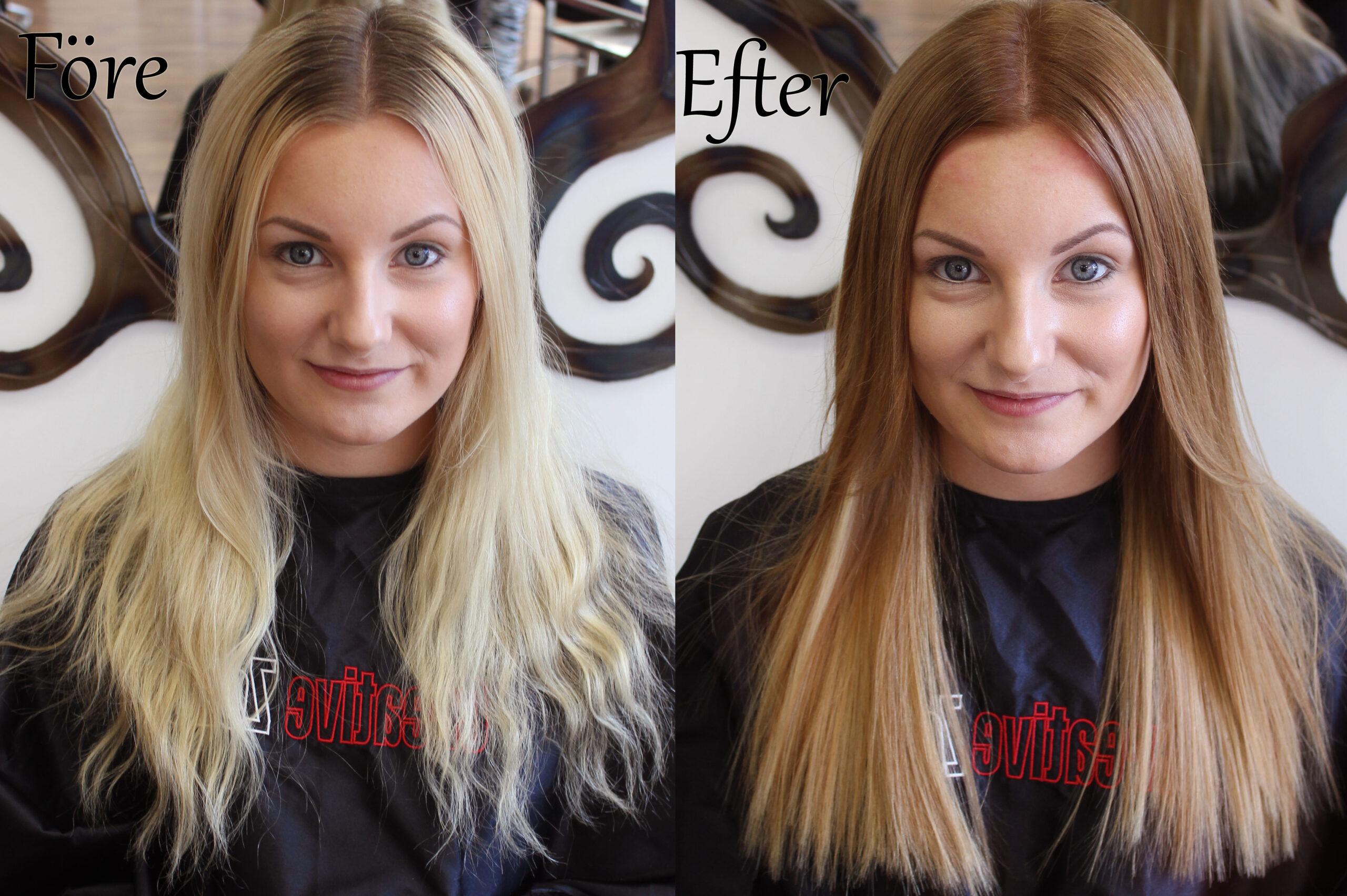 före-och-efter-hår