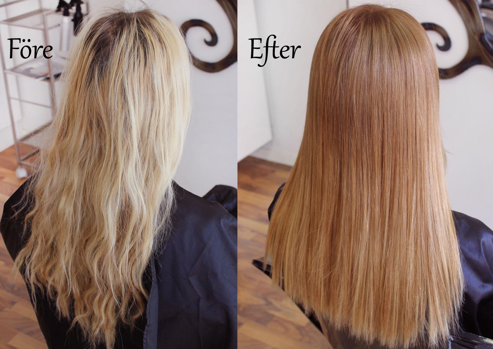 Få bort grönt hår silverschampo