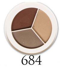 palett bruna ögonskuggor