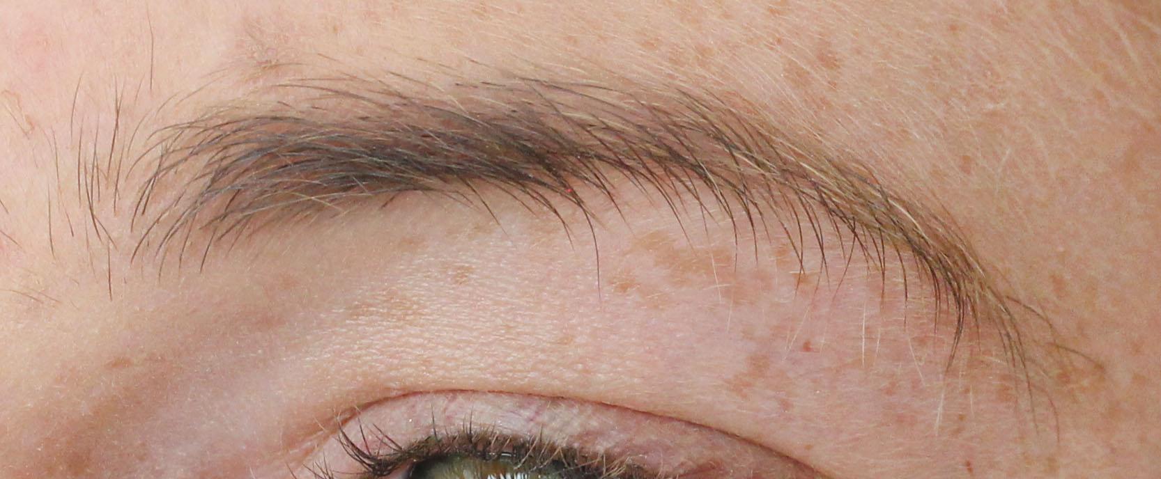 trimma ögonbryn män