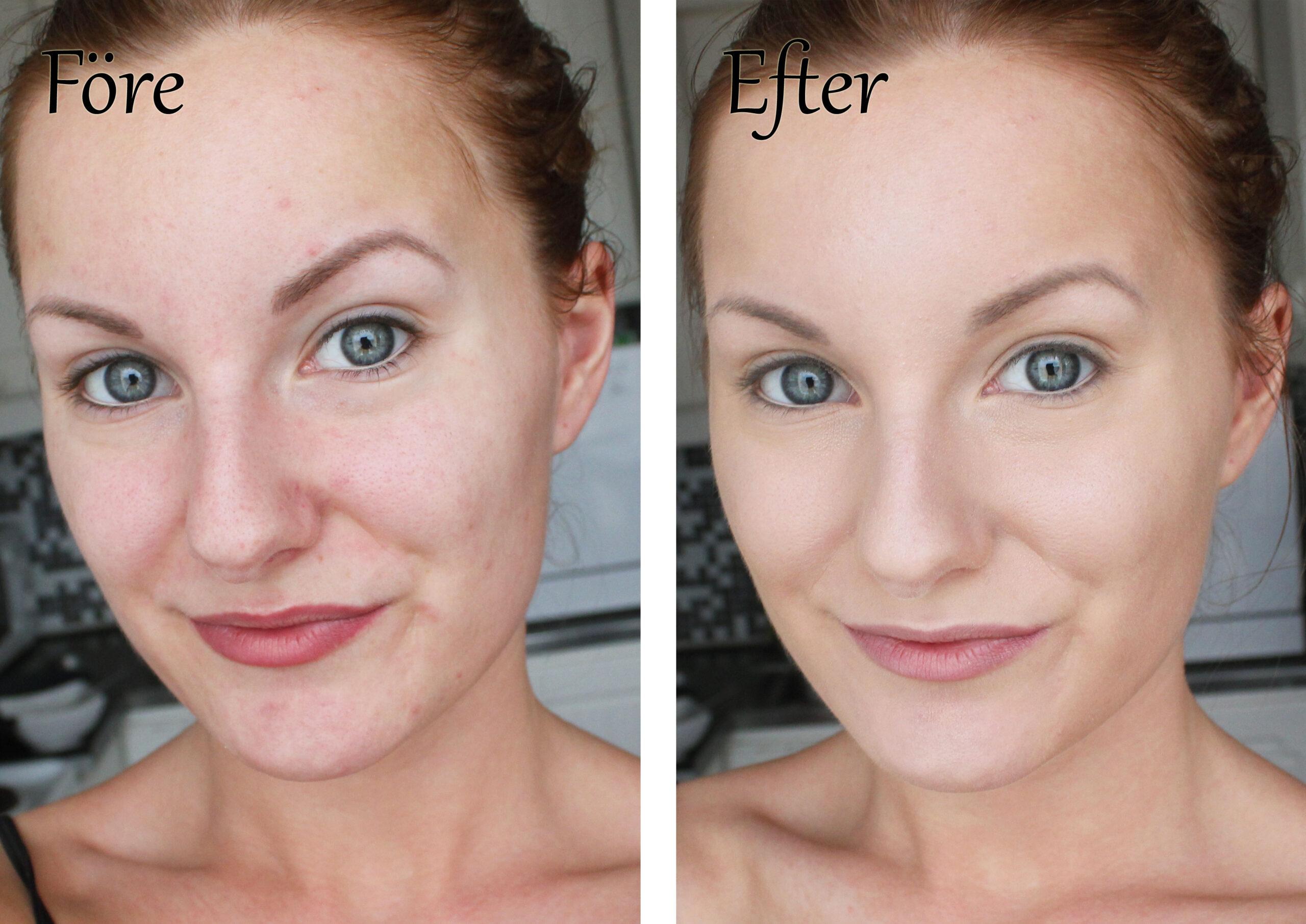base de maquillaje eco-minerales-antes-y-después