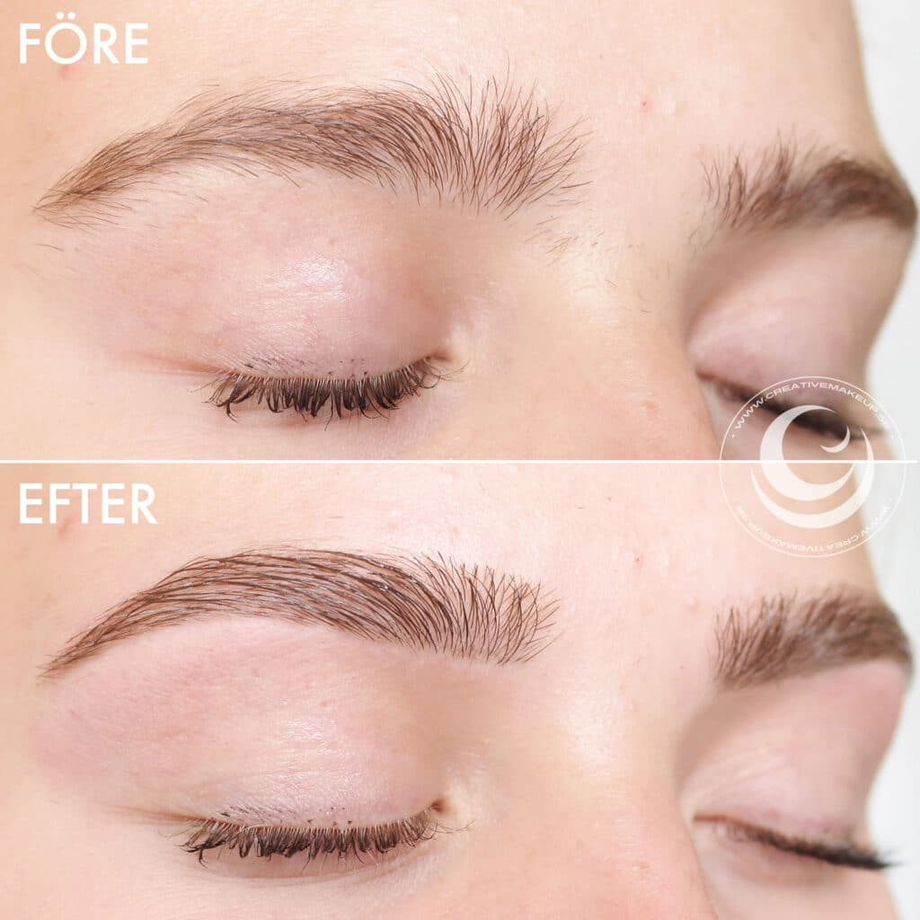 Pick different brow shapes