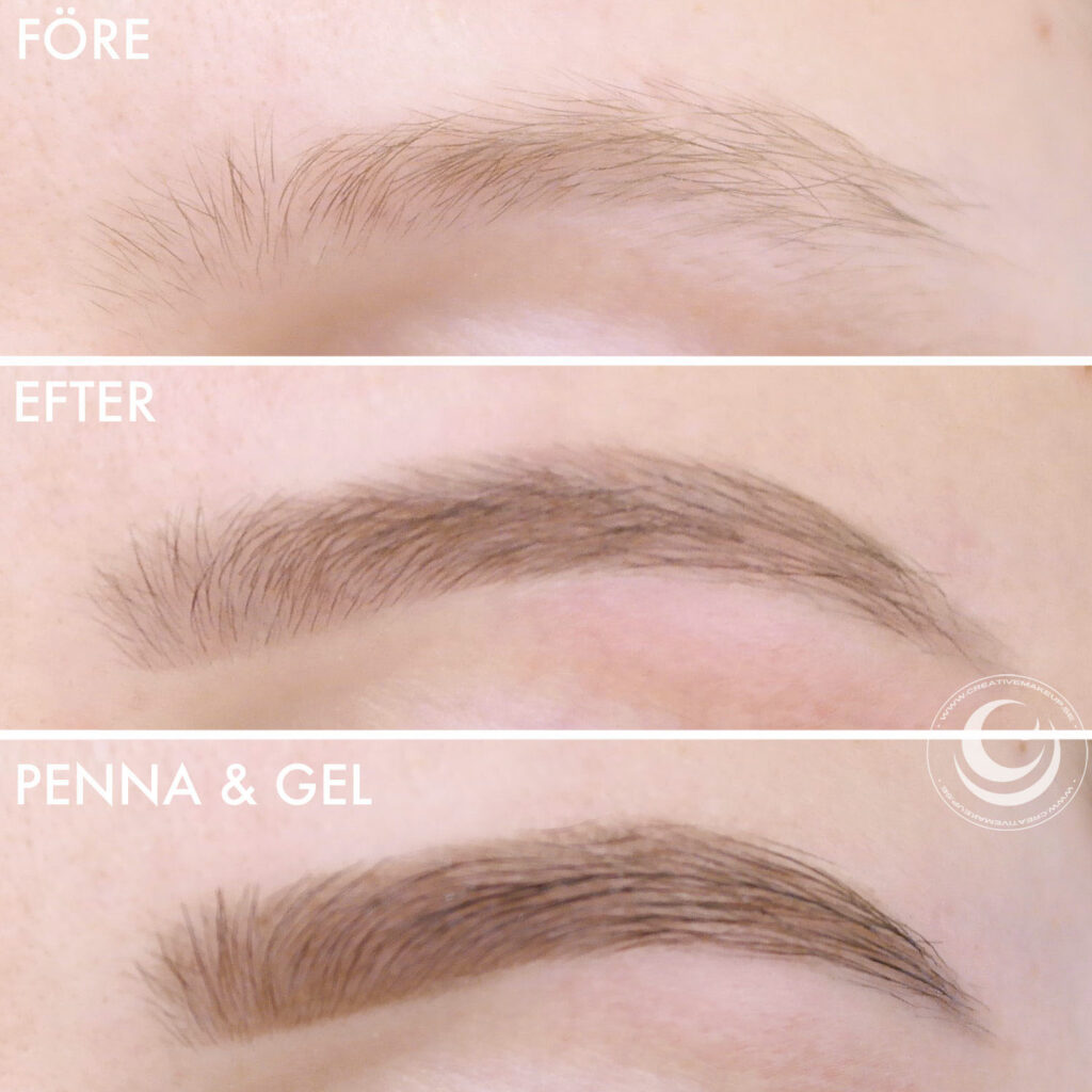 Pick different eyebrow shapes