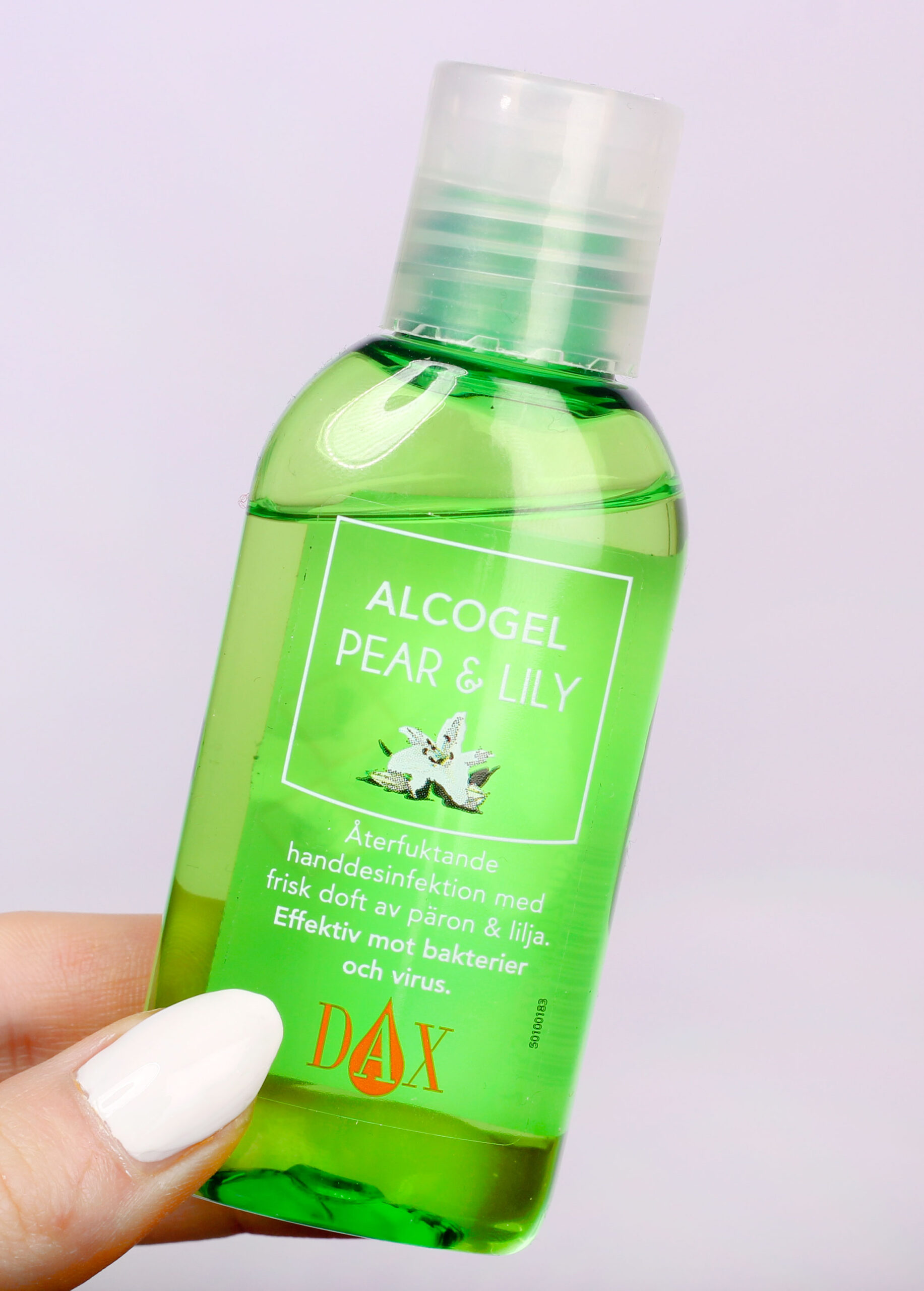 alcogel pear and lily