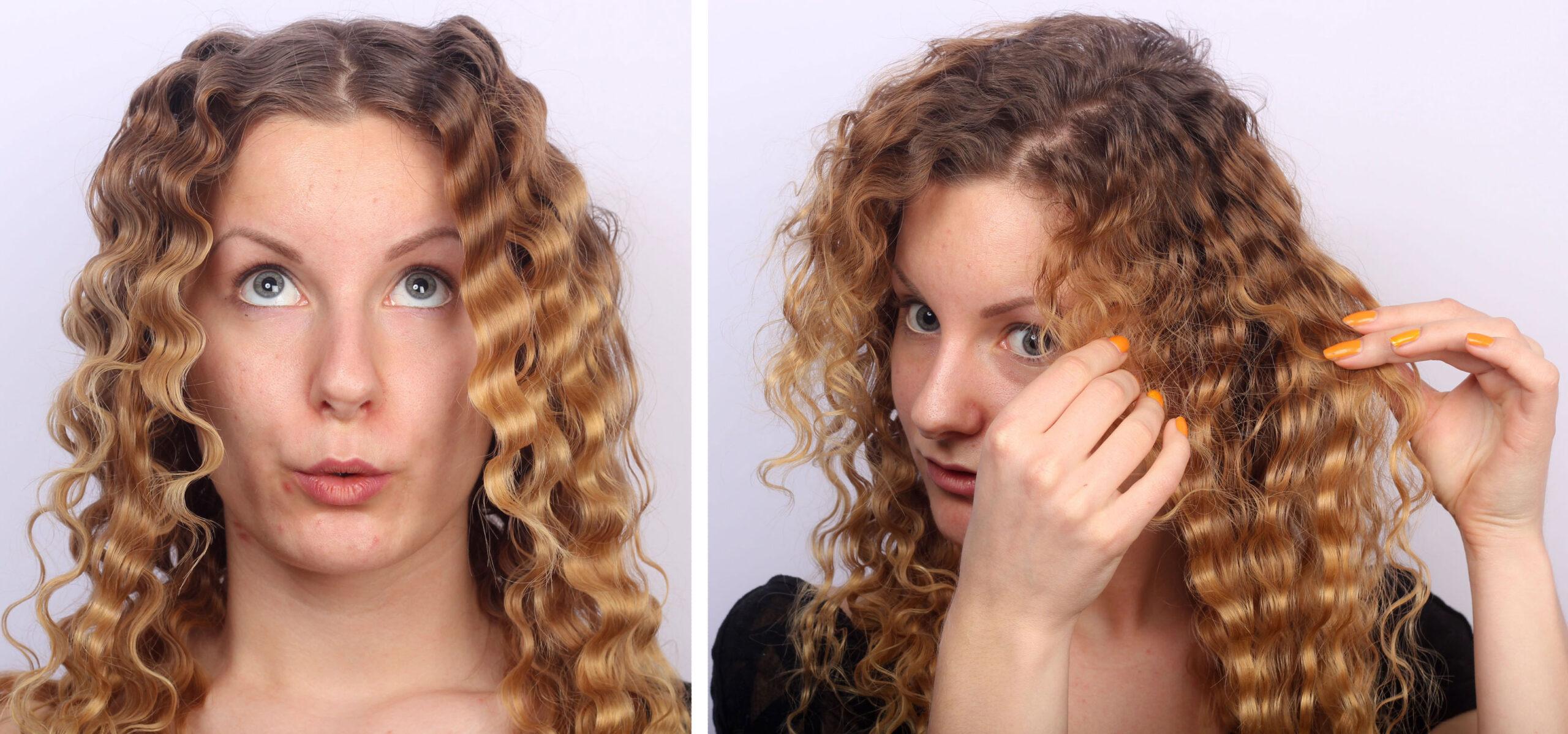 locka håret med locktång tips