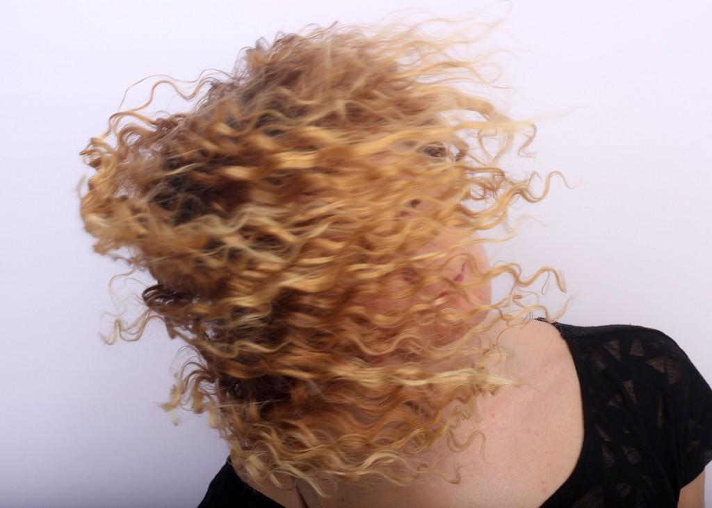 imagen de cabello rizado