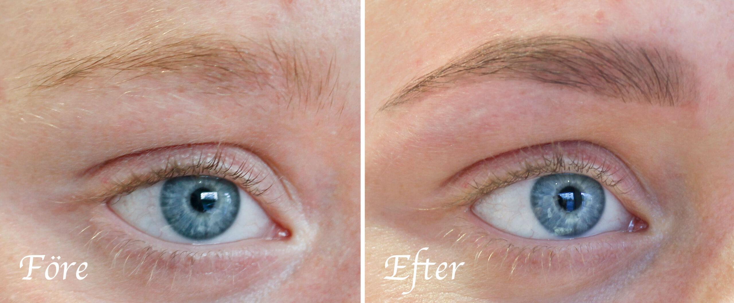 mascara för ögonbryn