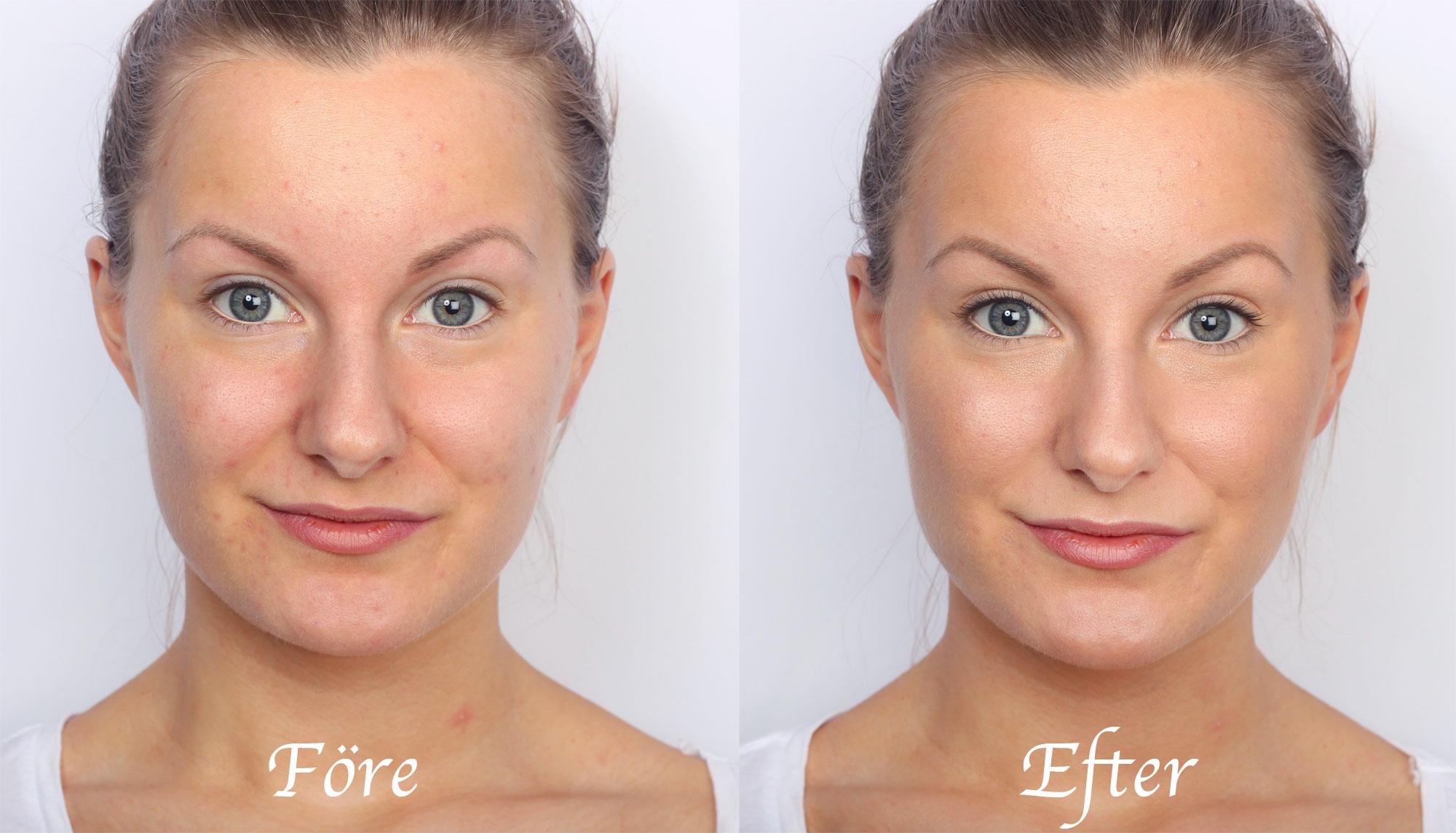 no-makeup-makeup-före-efter