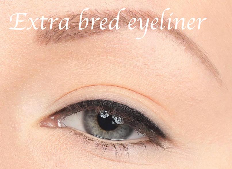 extra bred eyeliner ögonformer
