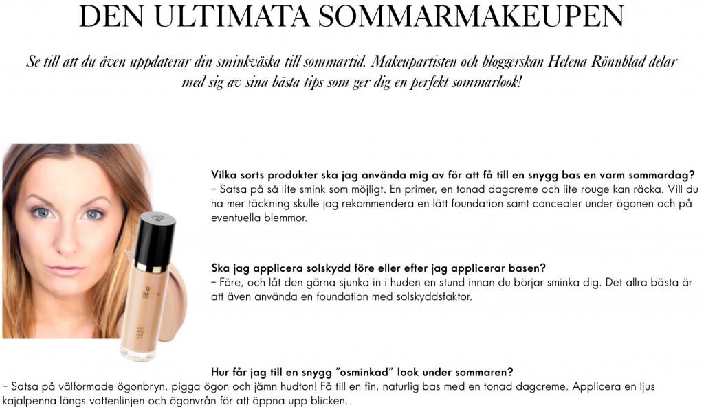 consejos de maquillaje oriflame