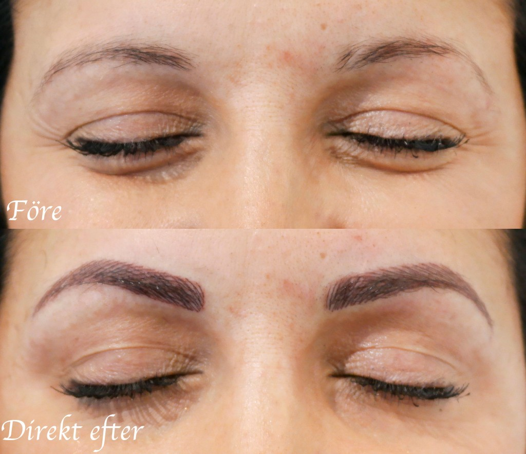 permanent-makeup-dark-eyebrows-uppsala-before-after