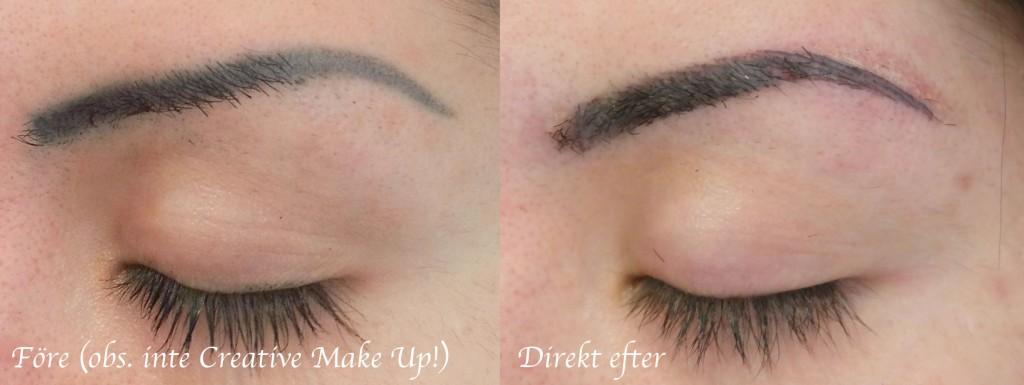 permanent makeup remover