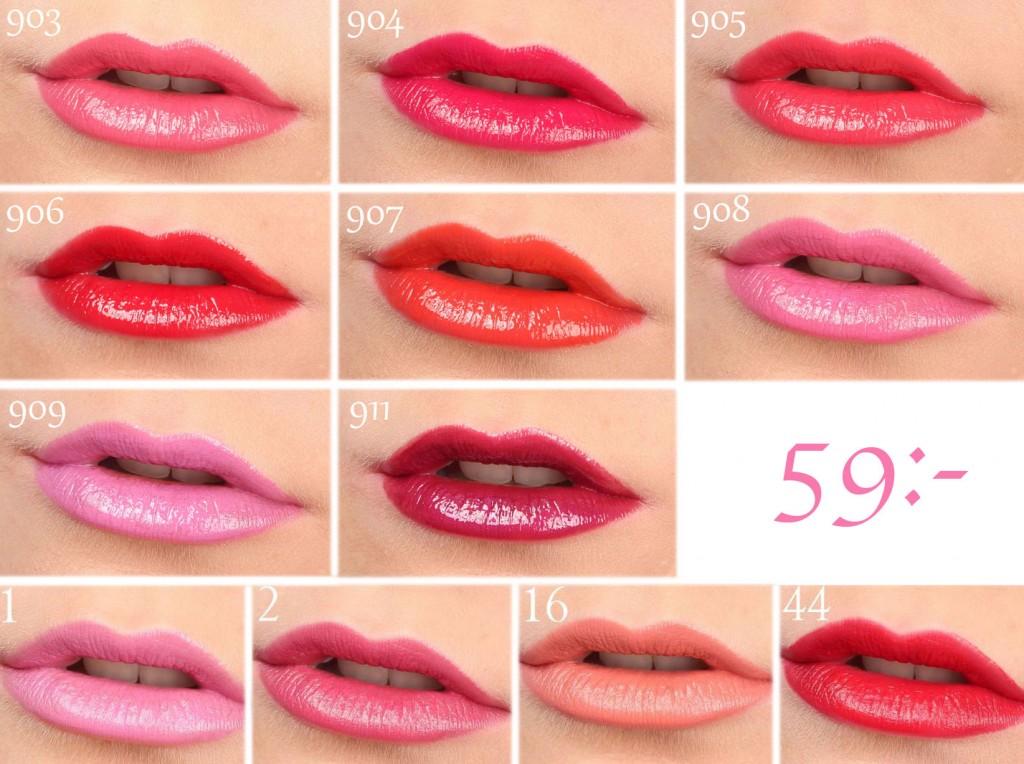 colores de labios de verano