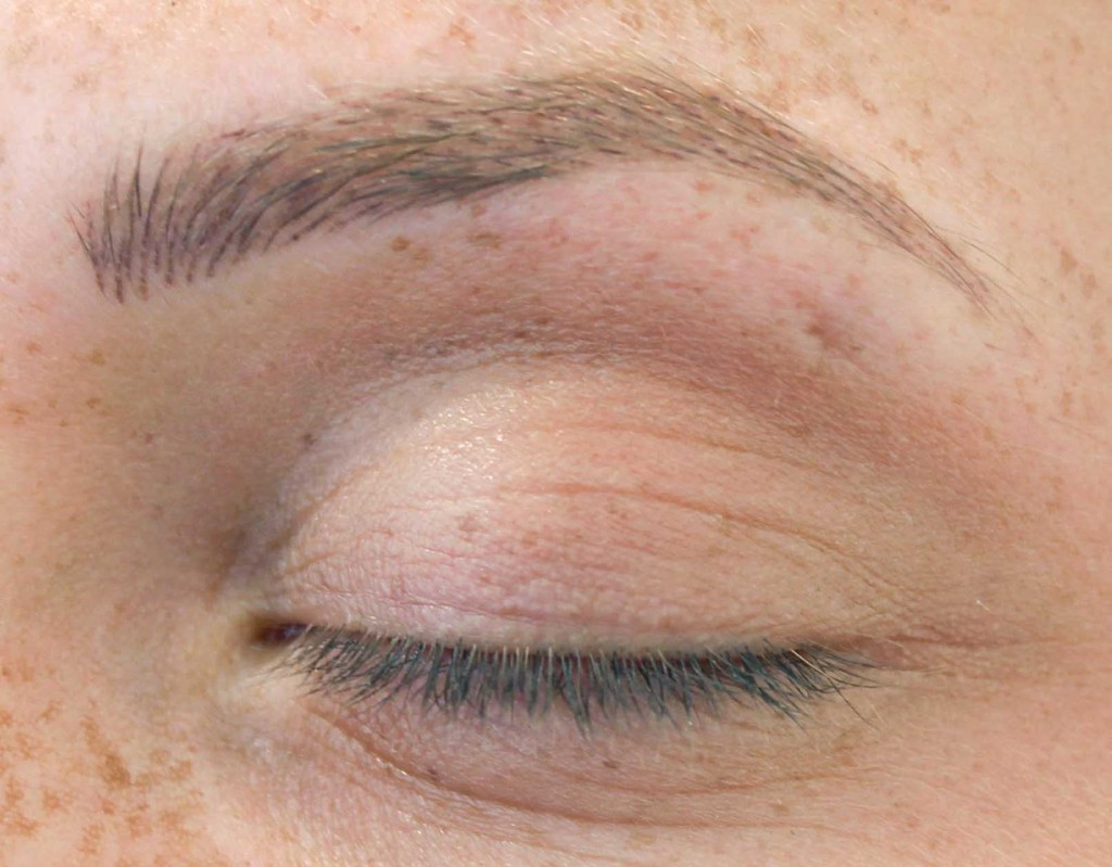 eyebrow tattoo-after-healing