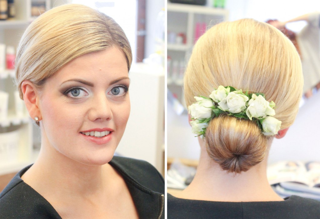 bridal makeup blonde