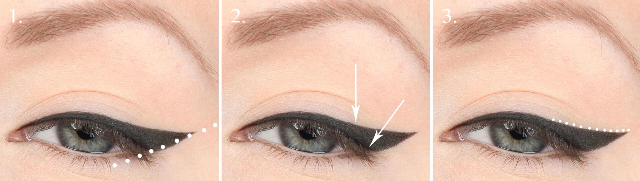 eyeliner riktlinjer
