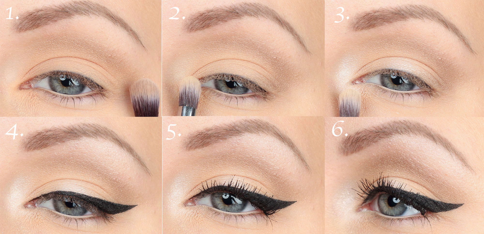 50s make-up-step-by-step