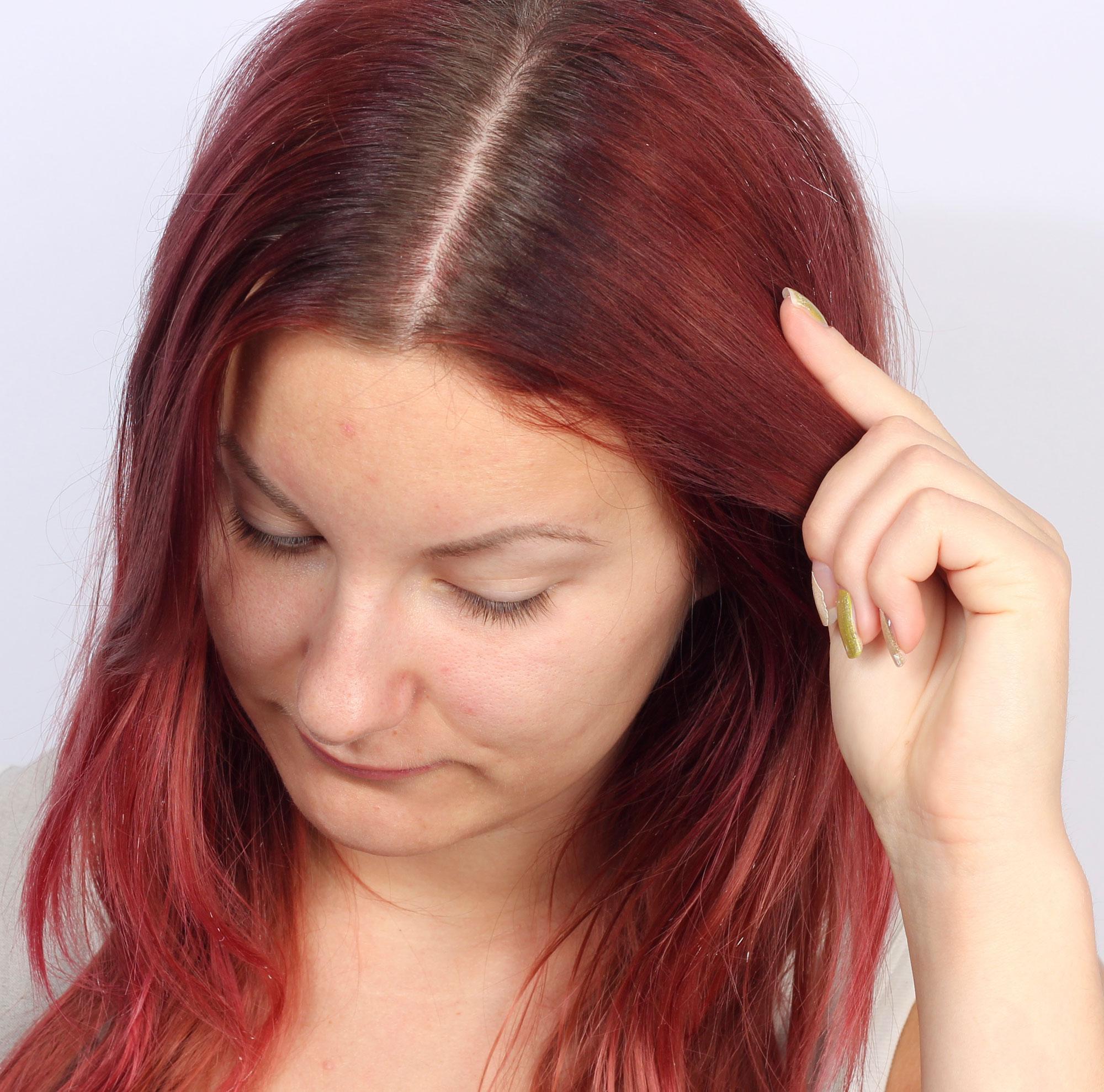 hur ofta färga håret