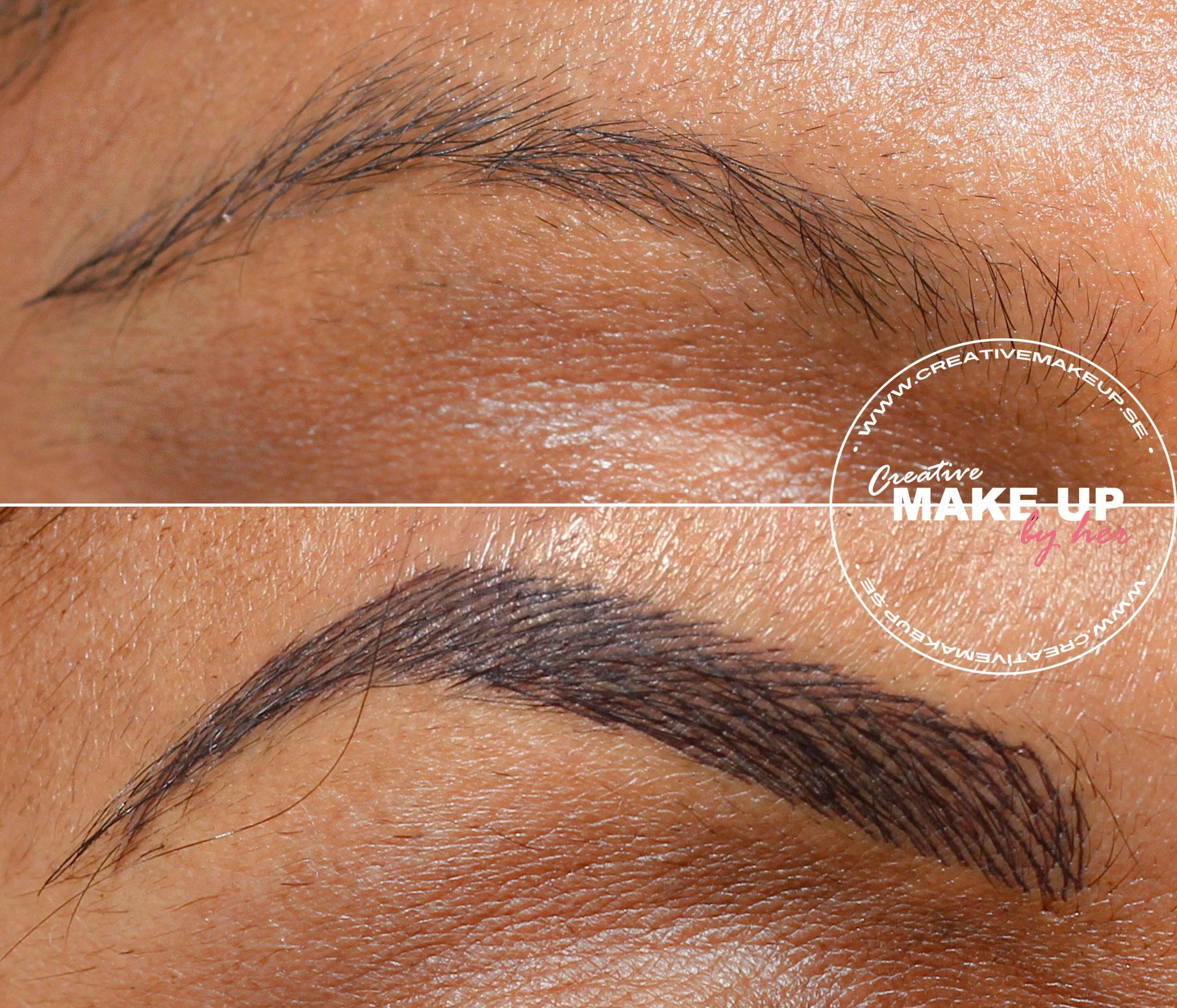 creative-makeup-ögonbrynstatuering