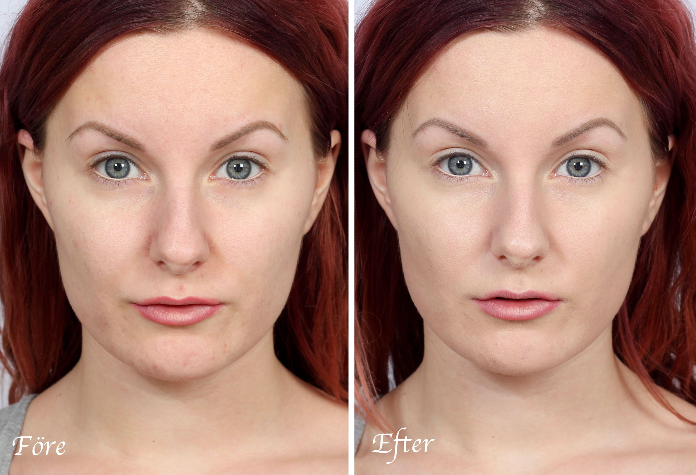 before-after-gloLUXE foundation