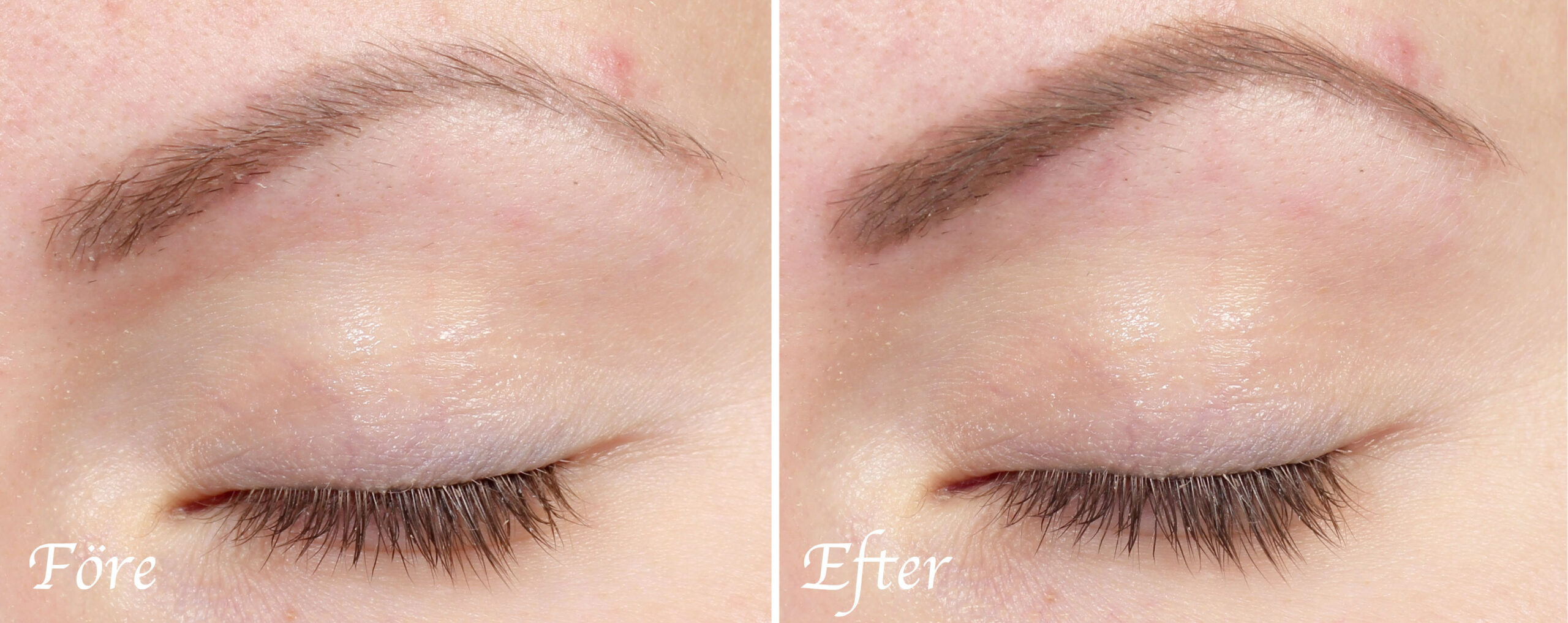 wunder brow before and after