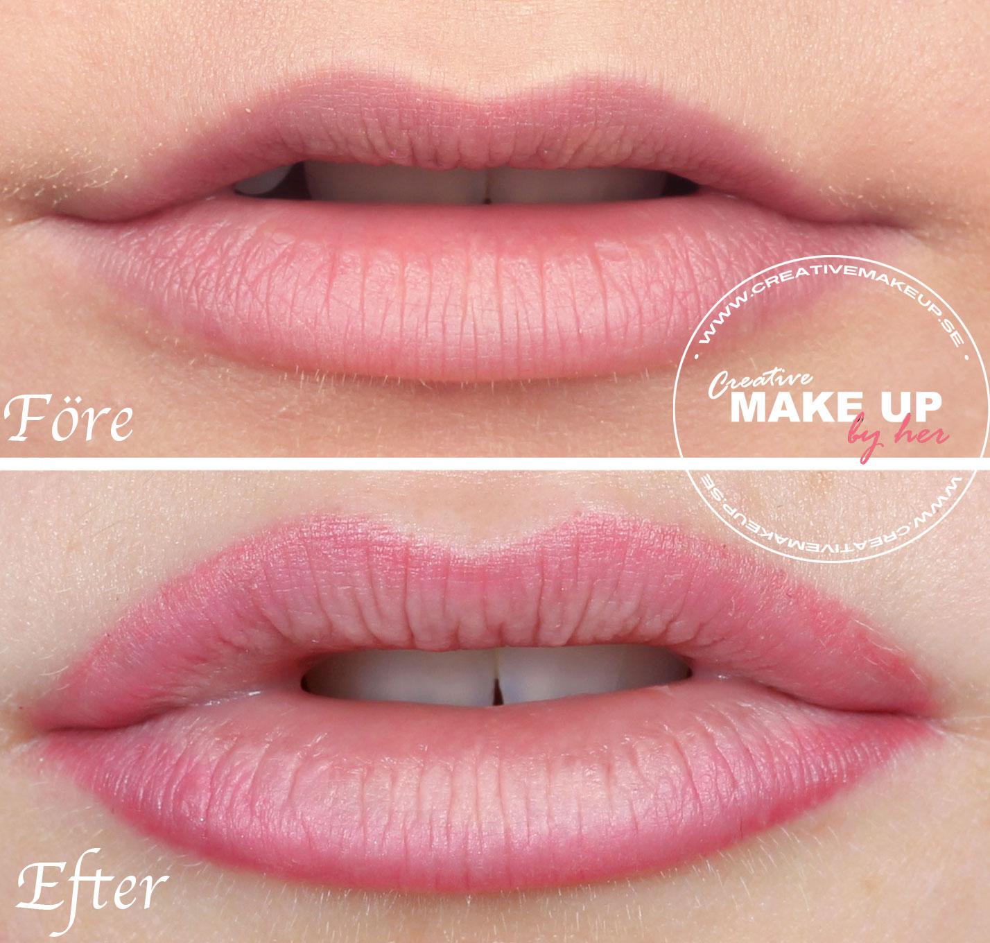 förstora läpparna naturligt