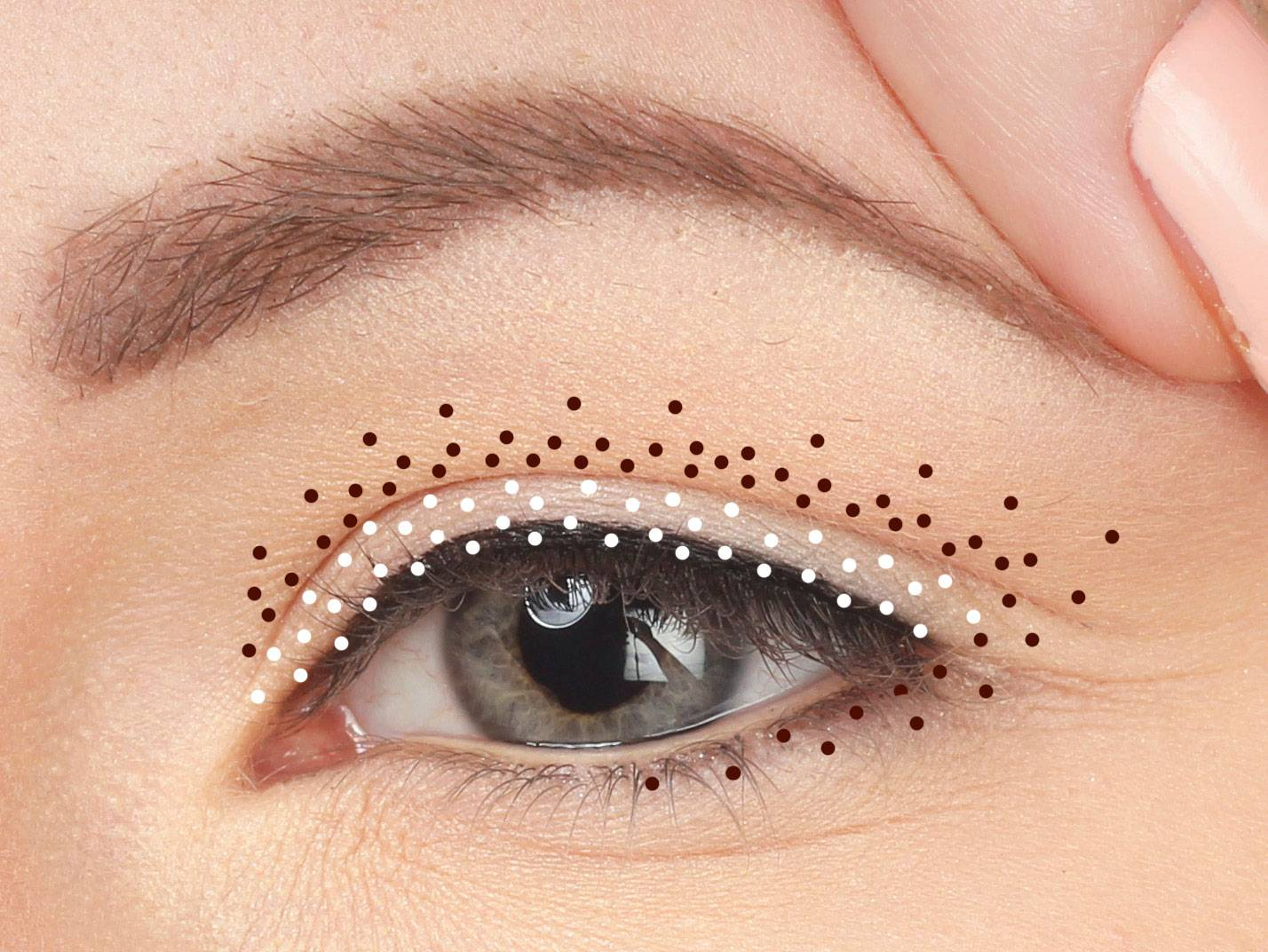 Consejos de maquillaje Ojos colgantes