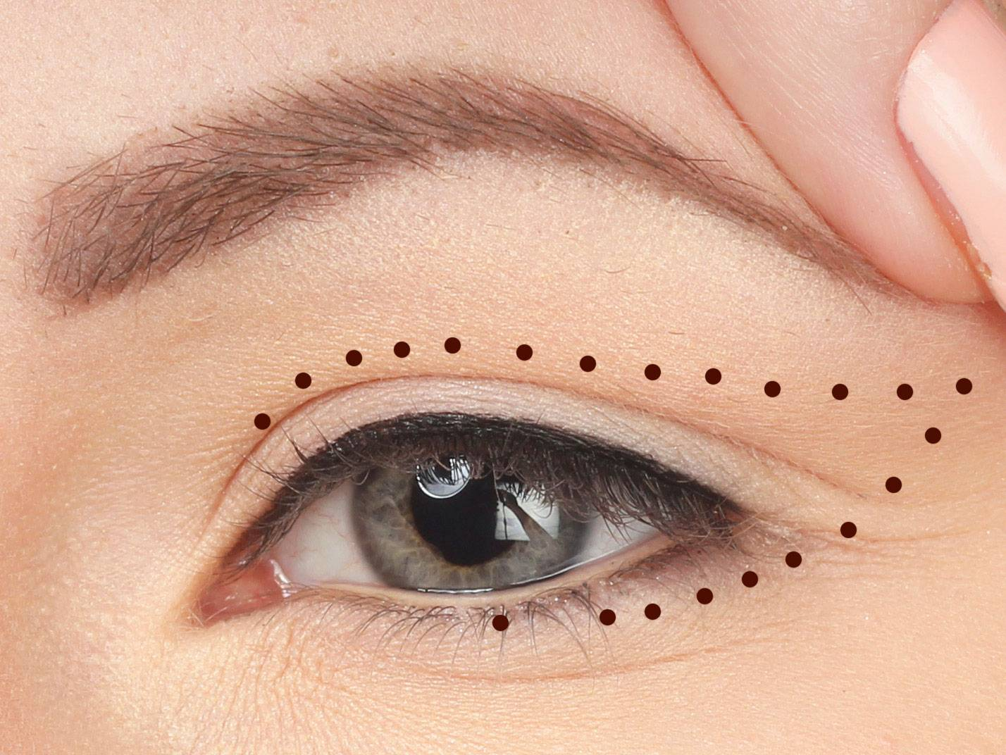 Makeup Tips Hanging Eyes