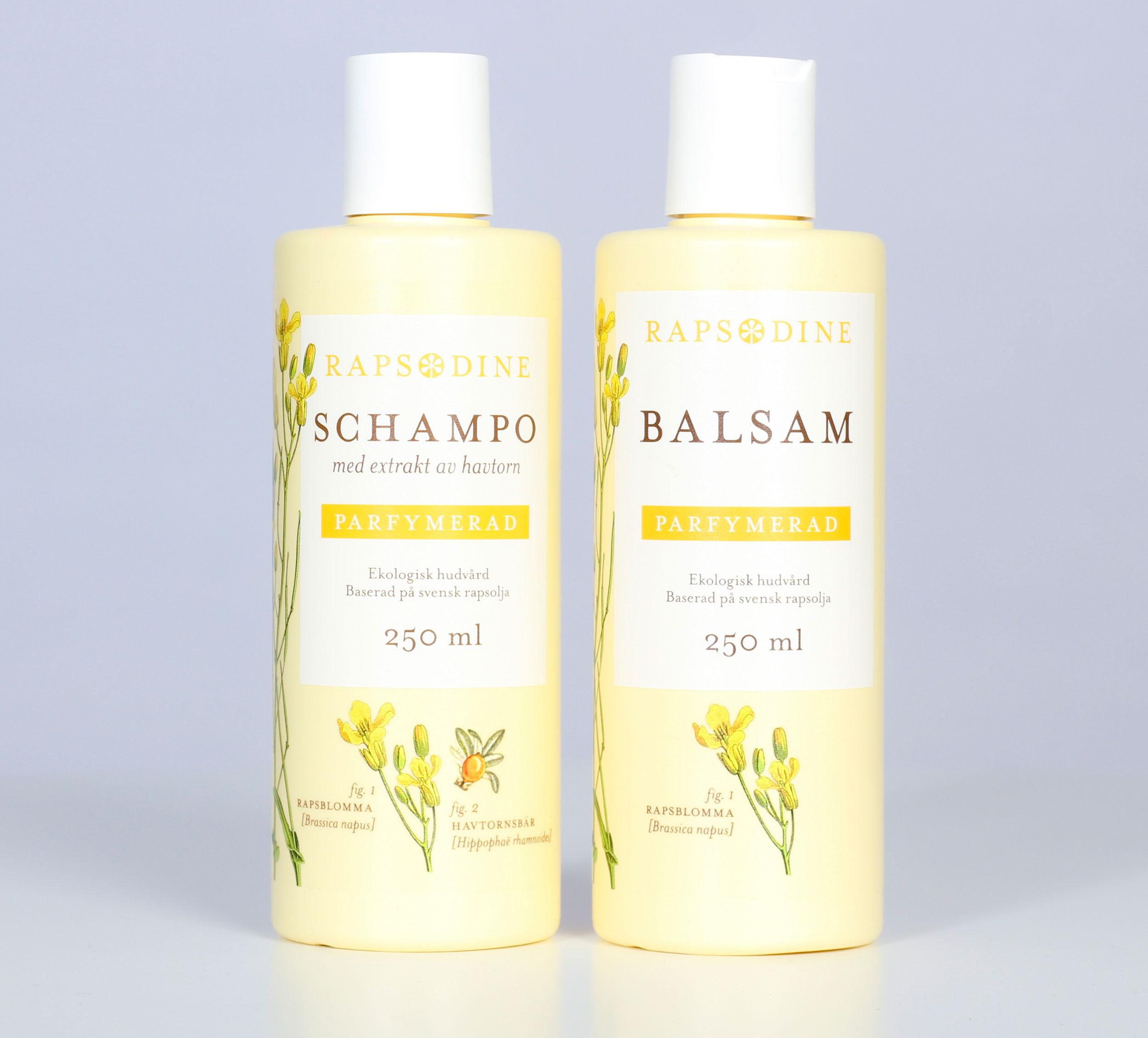 rosenserien shampoo recension