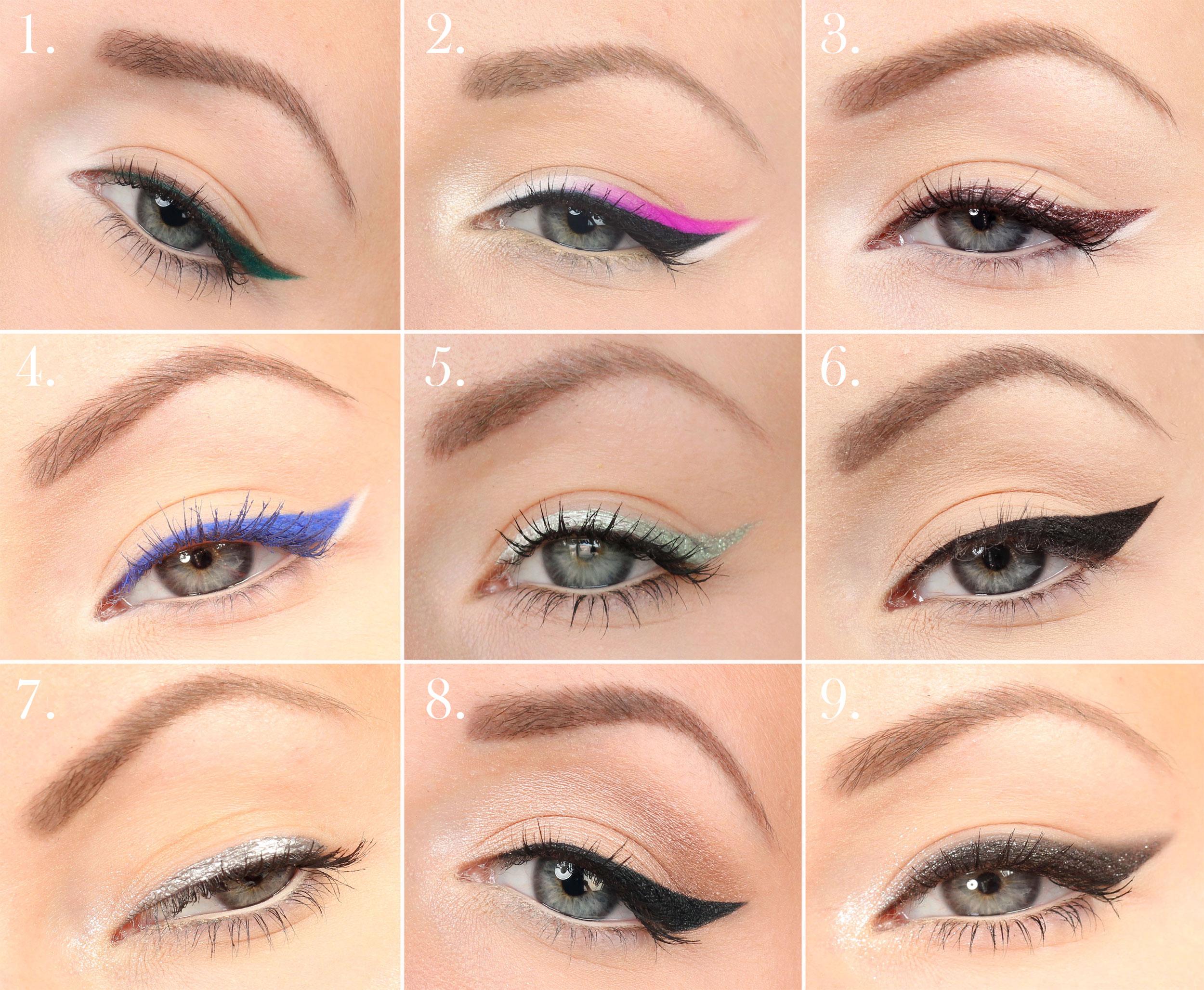 eyelinerkollage