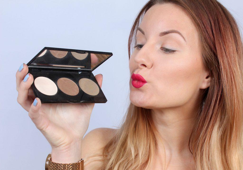 paleta de maquillaje de maquillaje
